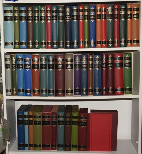 Image for The Folio Society Complete Works Complete Set of 48 Volumes in Slipcases.