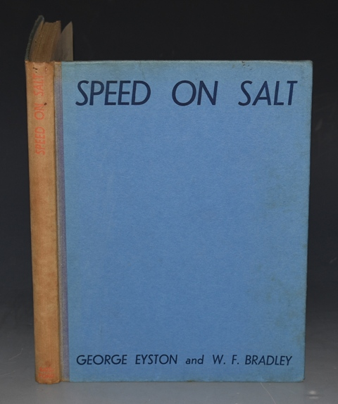 Image for Speed on Salt: A History of The Bonneville Salt Flats, Utah, U.S.A. With a foreword by Sir Malcolm Campbell.