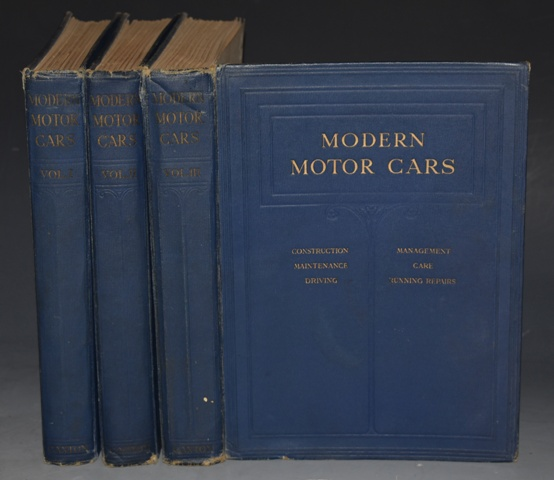 Image for Modern Motor Cars. Their Construction, Maintenance, Management, Care, Driving, and Running Repairs. With a Special Section on Cycle Cars, Commercial Cars, and Motor Cycles.