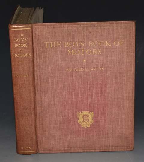 Image for The Boys' Book of Motors. All about the leading Motor-Cars of to-day including a complete description in fascinatingly simple language of How the Motor-Car works.