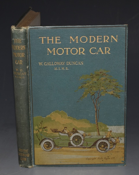 Image for The Modern Motor Car Its Management, Mechanism, and Maintenance. A Practical Handbook for the Use of Owners and Drivers. Second Edition Revised. With Illustrations.