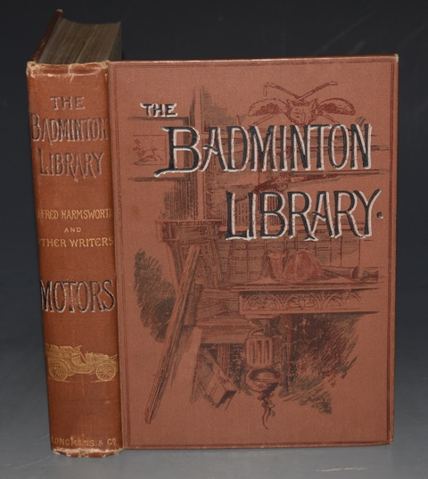 Image for MOTORS AND MOTOR-DRIVING. The Badminton Library. With contributions by the Marquis de Chasseloup-Laubat... &c &c... With Illustrations by H. M. Brock, H. Tringham, and from Photographs.