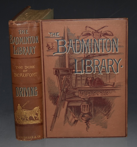 Image for DRIVING. THE BADMINTON LIBRARY. With contributions by other authorities. Illustrated by G.D. Giles and John Sturgess. Second Edition.