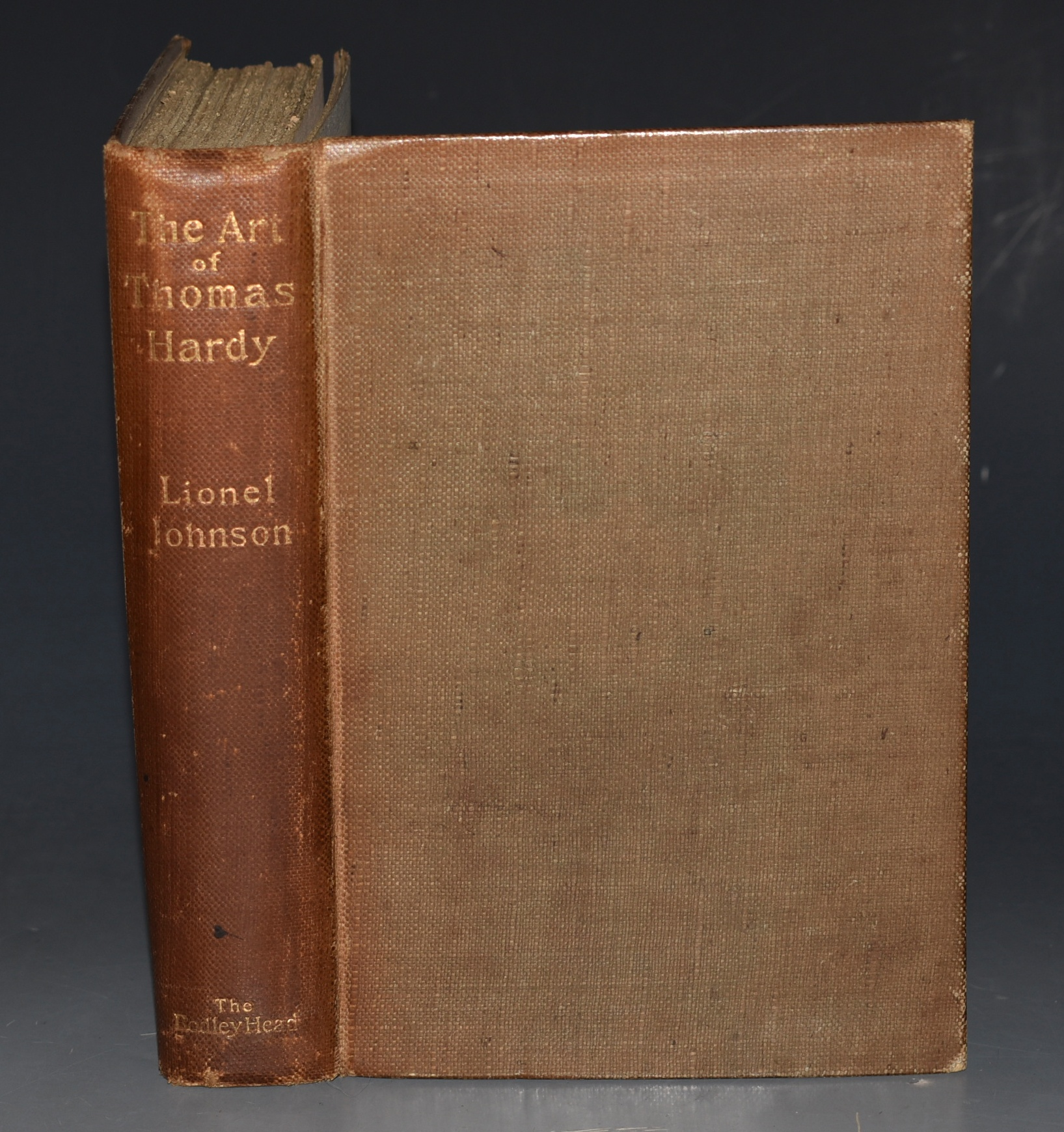 Image for The Art of Thomas Hardy With a Portrait Etched from Life by William Strang and a Bibliography by John Lane