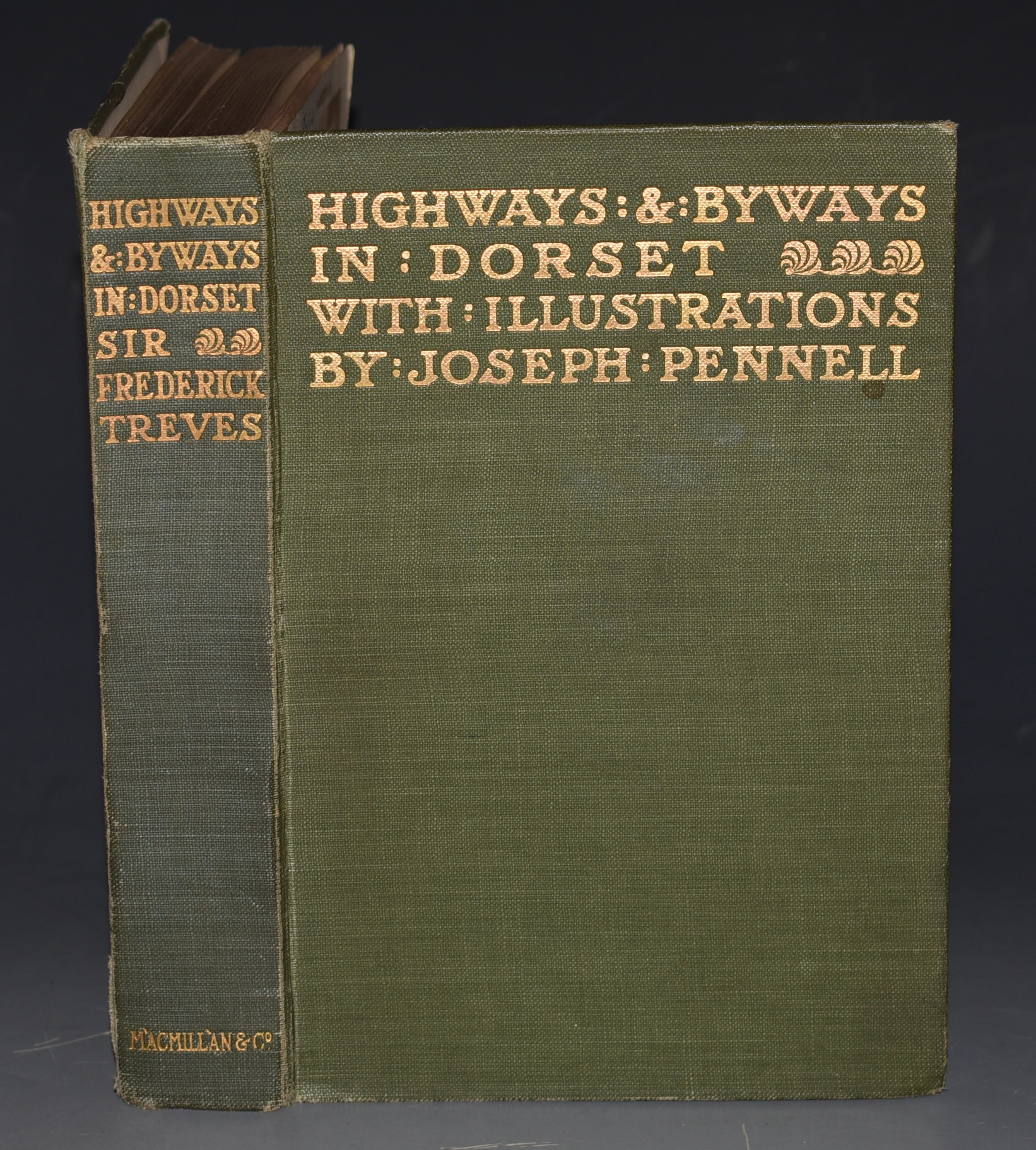 Image for Highways and Byways in Dorset. Illustrated by Joseph Pennell.