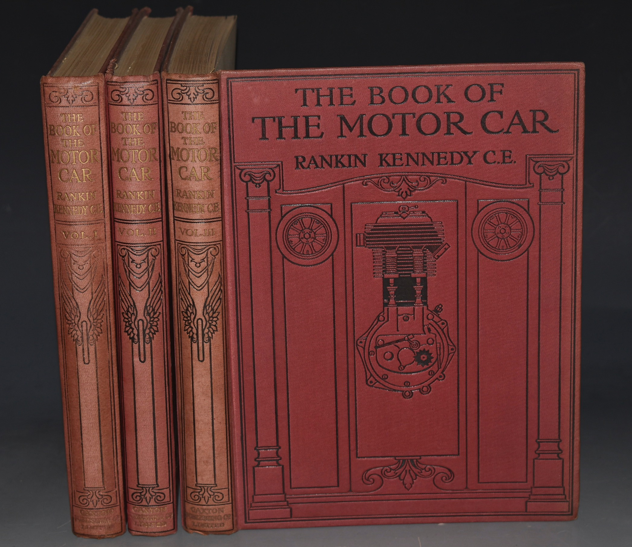 Image for The Book of the Motor Car. A Comprehensive and Authoritative Guide on the Care, Management, Maintenance, and Construction of the Motor Car and Motor Cycle.