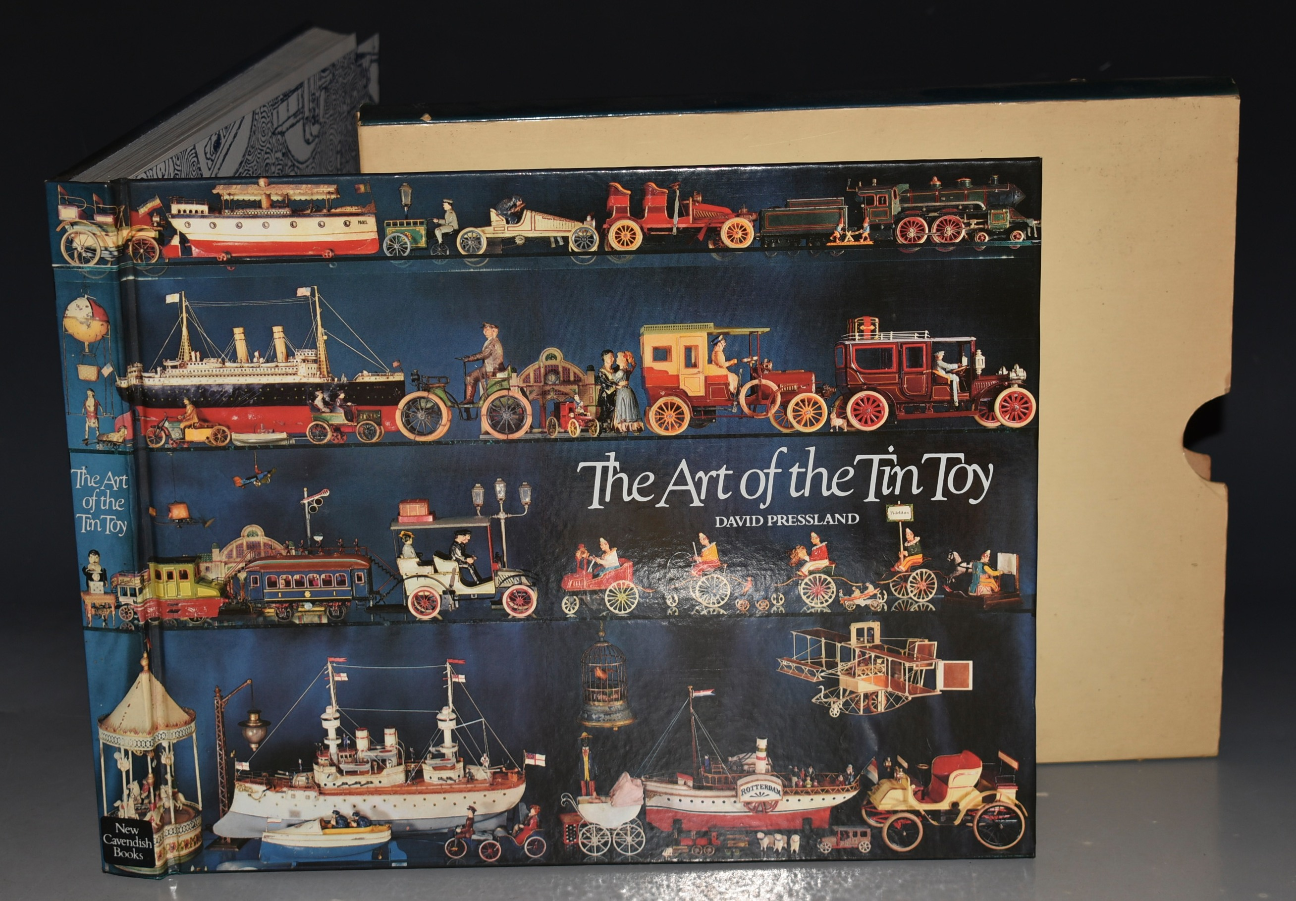 Image for The Art of The Tin Toy SIGNED COPY.