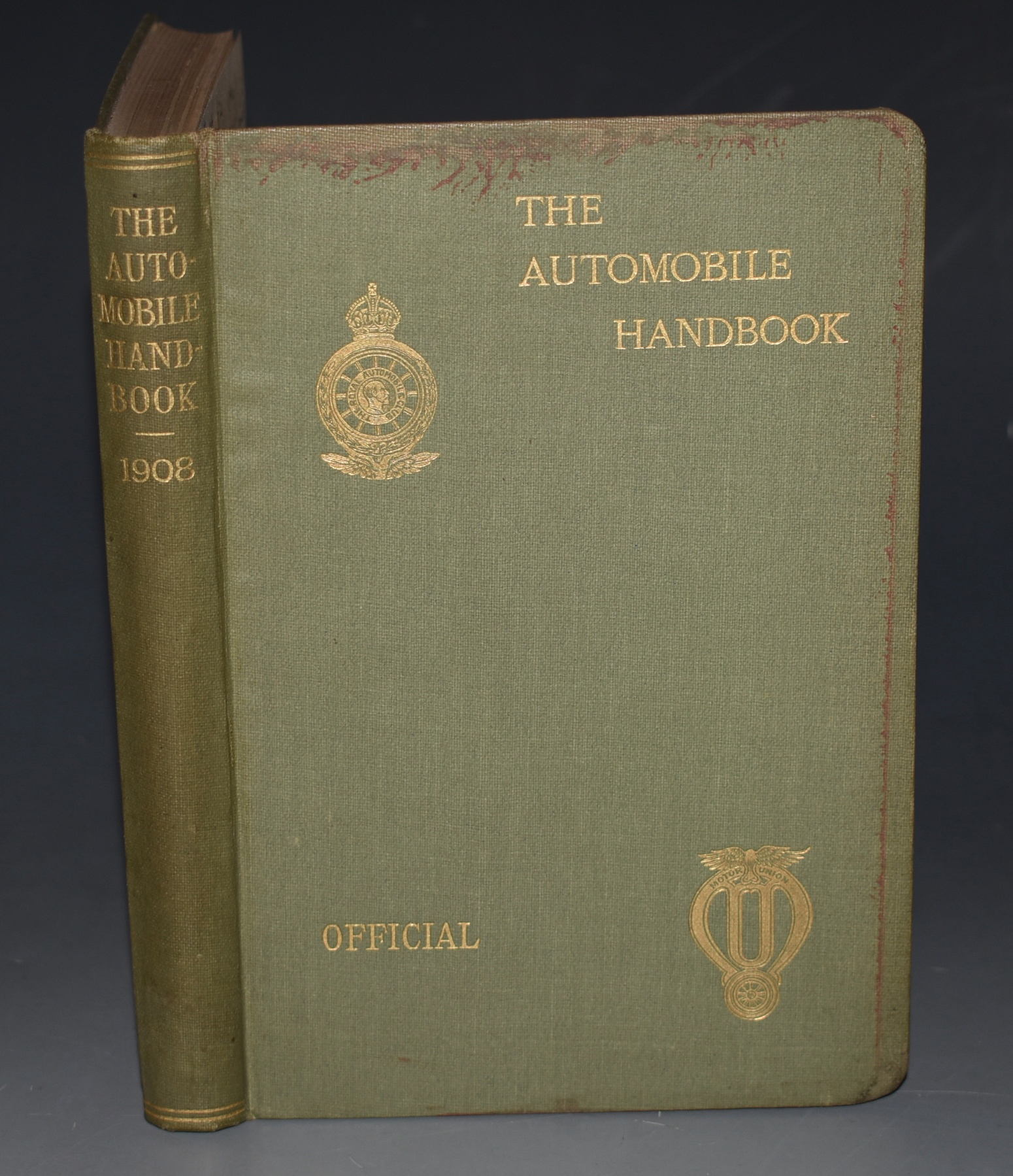 Image for The Automobile Handbook 1908 Issued under the Auspices and by the authority of the Royal Automobile Club and of the Motor Union of Great Britain and Ireland. Containing Information of Interest to Automobilists and a Guide to Touring in the United Kingdom and Places Abroad. (Fifth Year of Issue.)