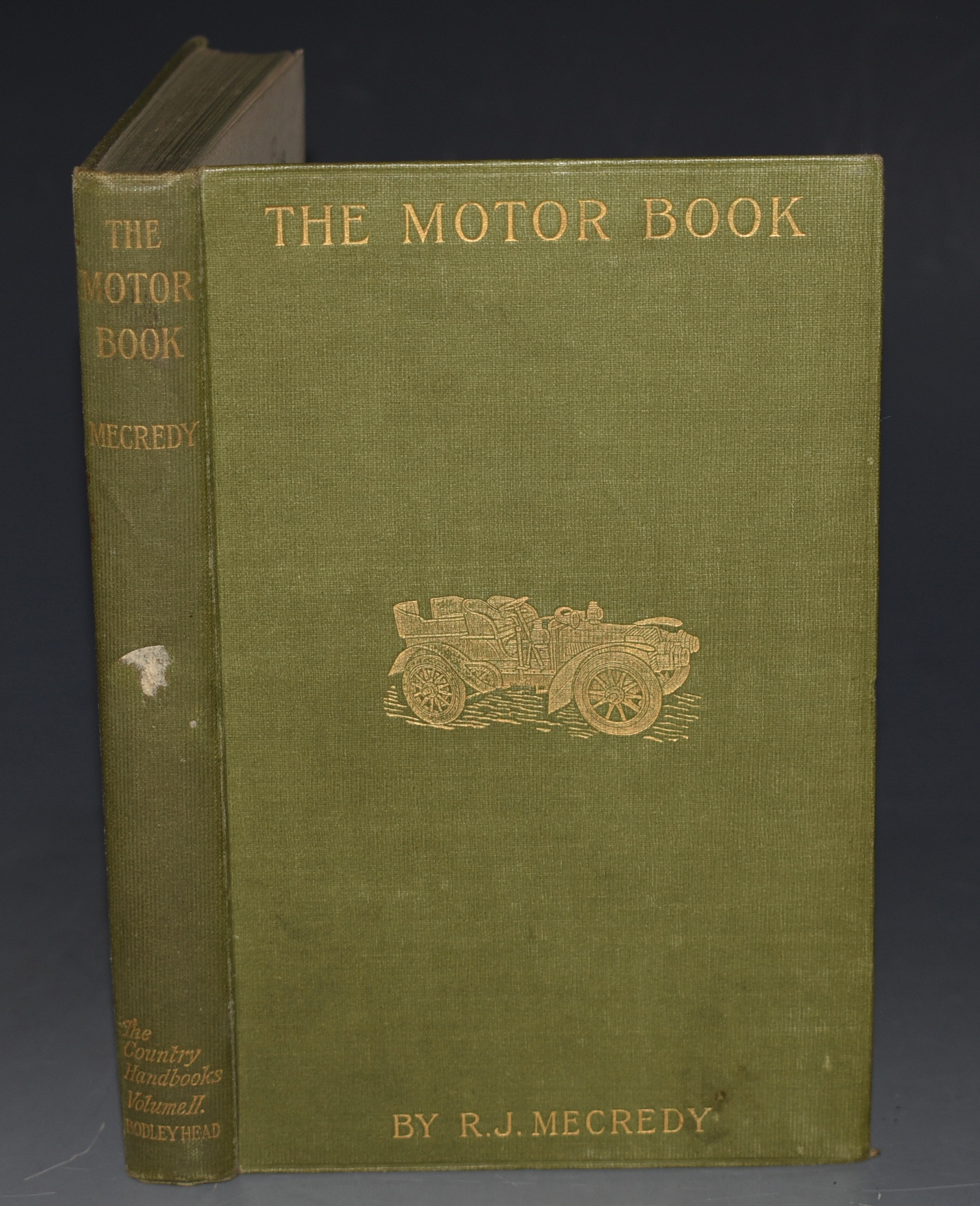 Image for The Motor Book By the Editor of The Motor News.