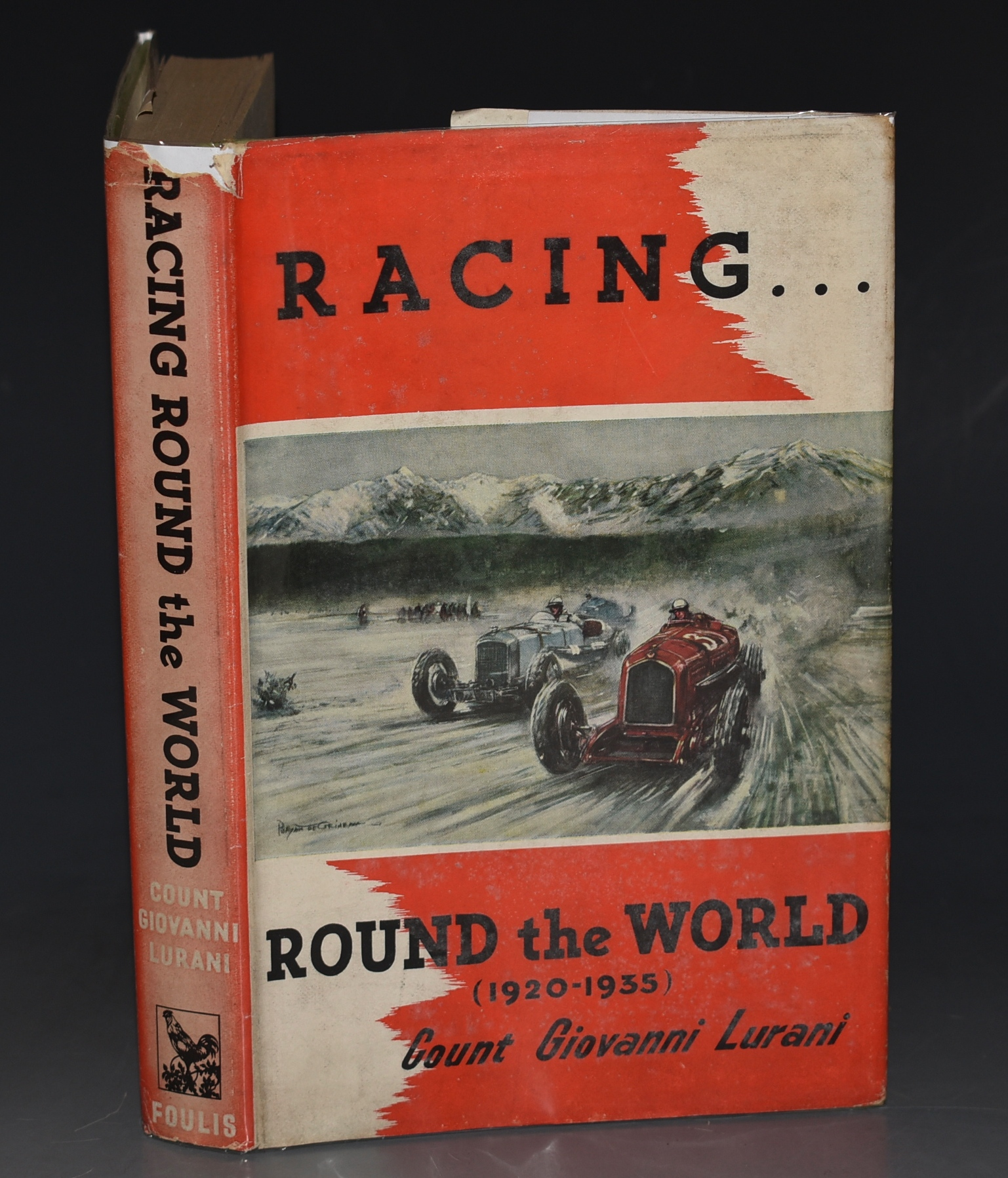 Image for Racing Round The World (1920 - 1935) Translated by John Eason-Gibson.