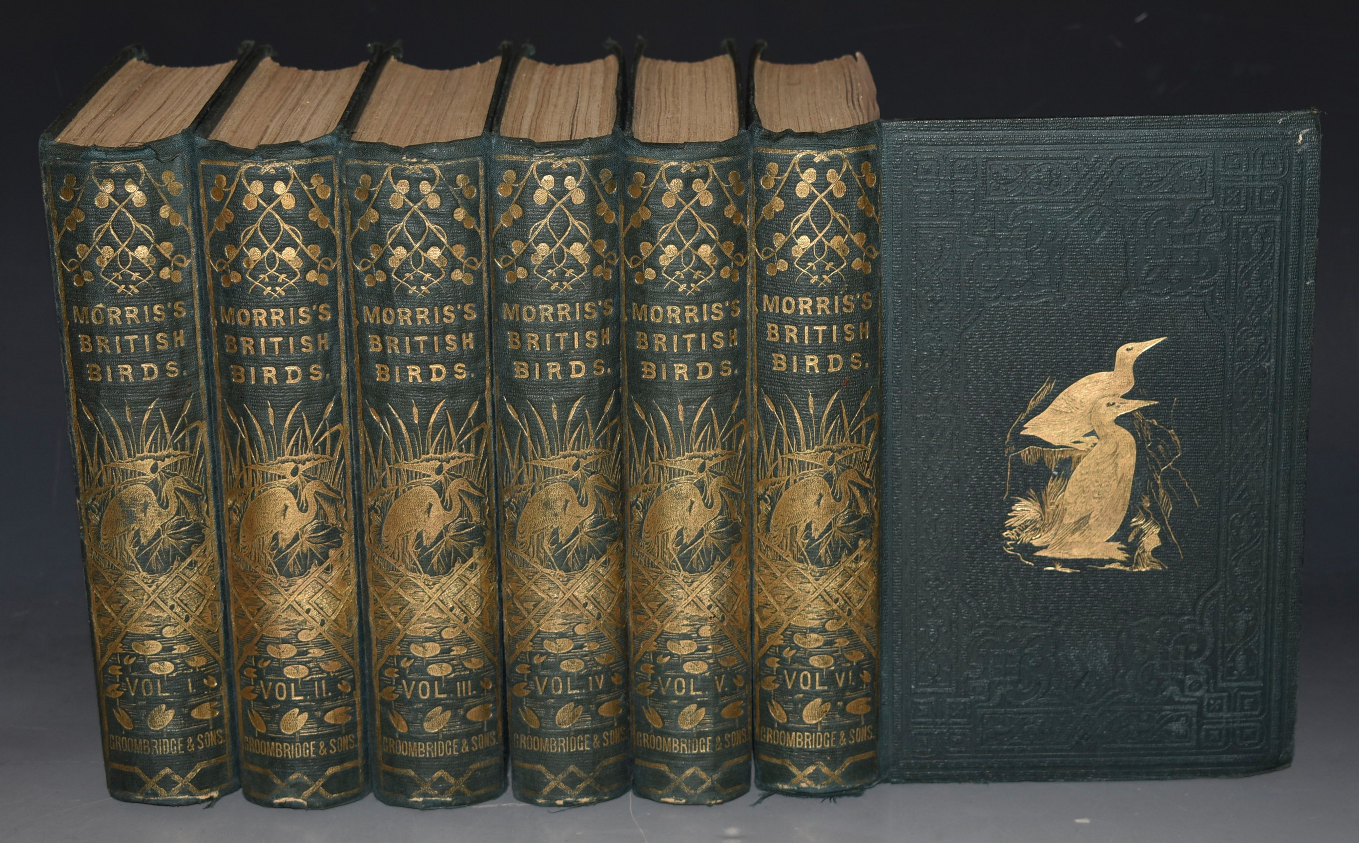 Image for A History of British Birds. Second Printing of the First Edition. In Six volumes.