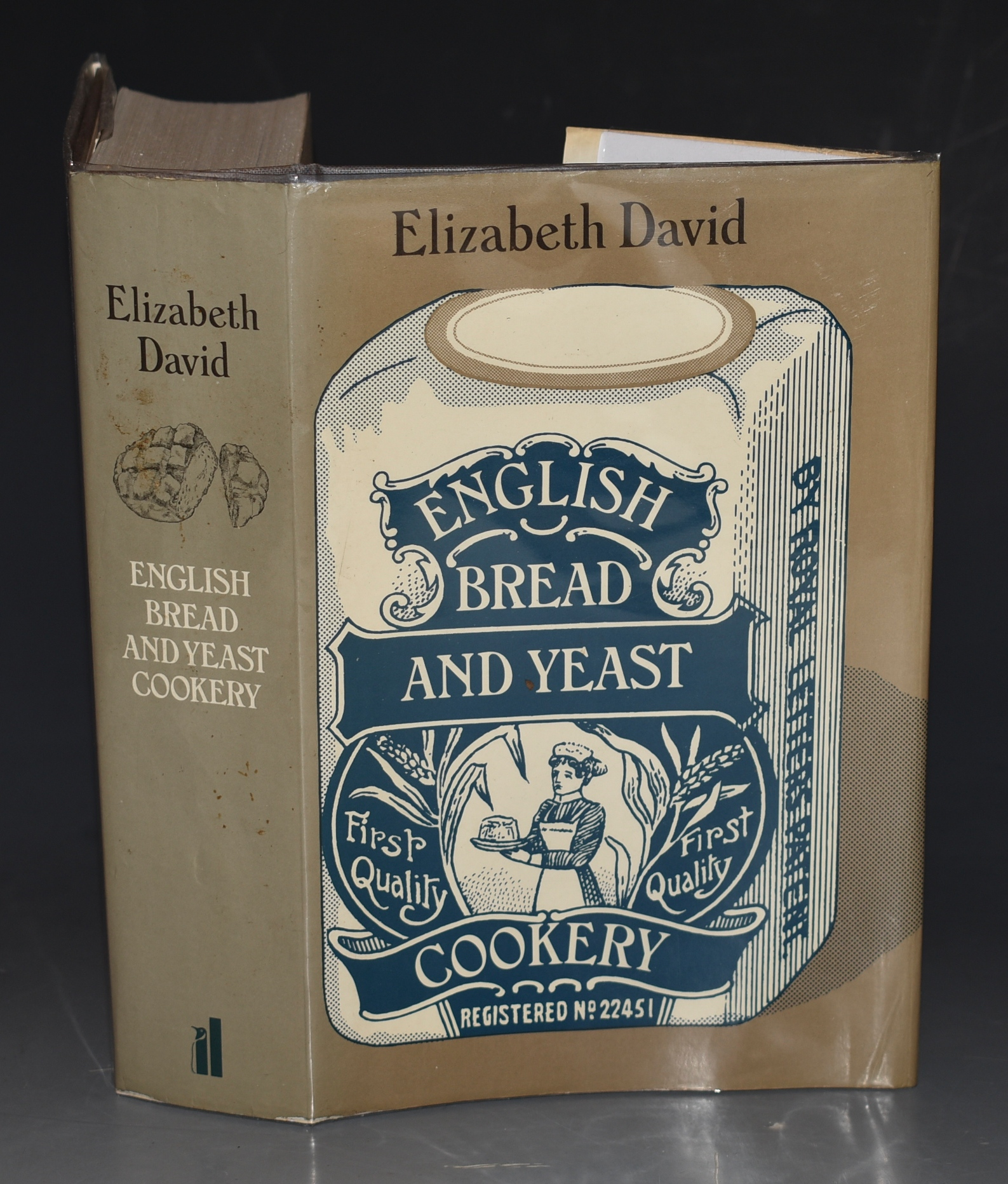 Image for English Bread and Yeast Cookery SIGNED COPY.