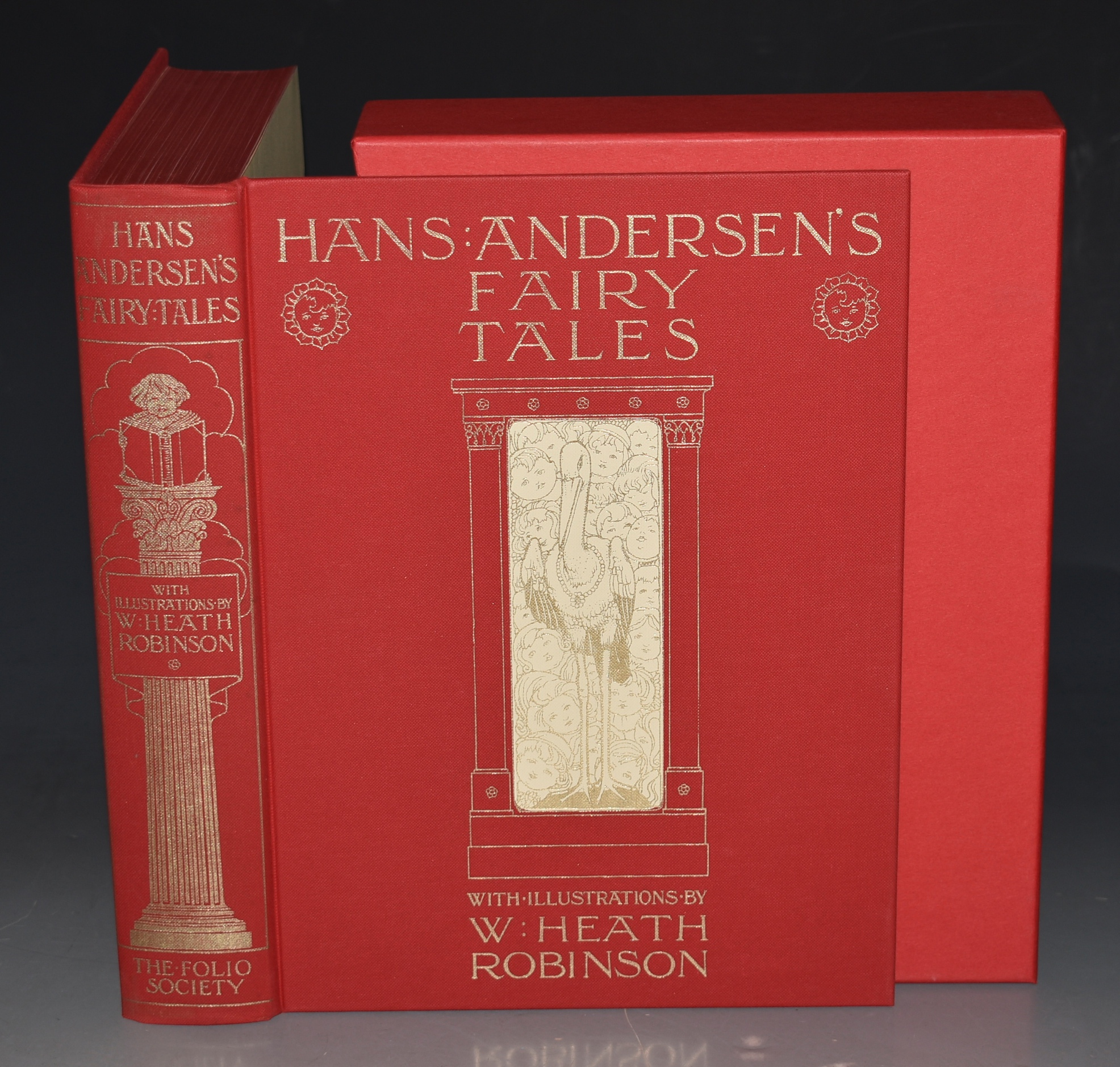 Image for Han's Andersen's Fairy Tales. Illustrated by W. HEATH ROBINSON.
