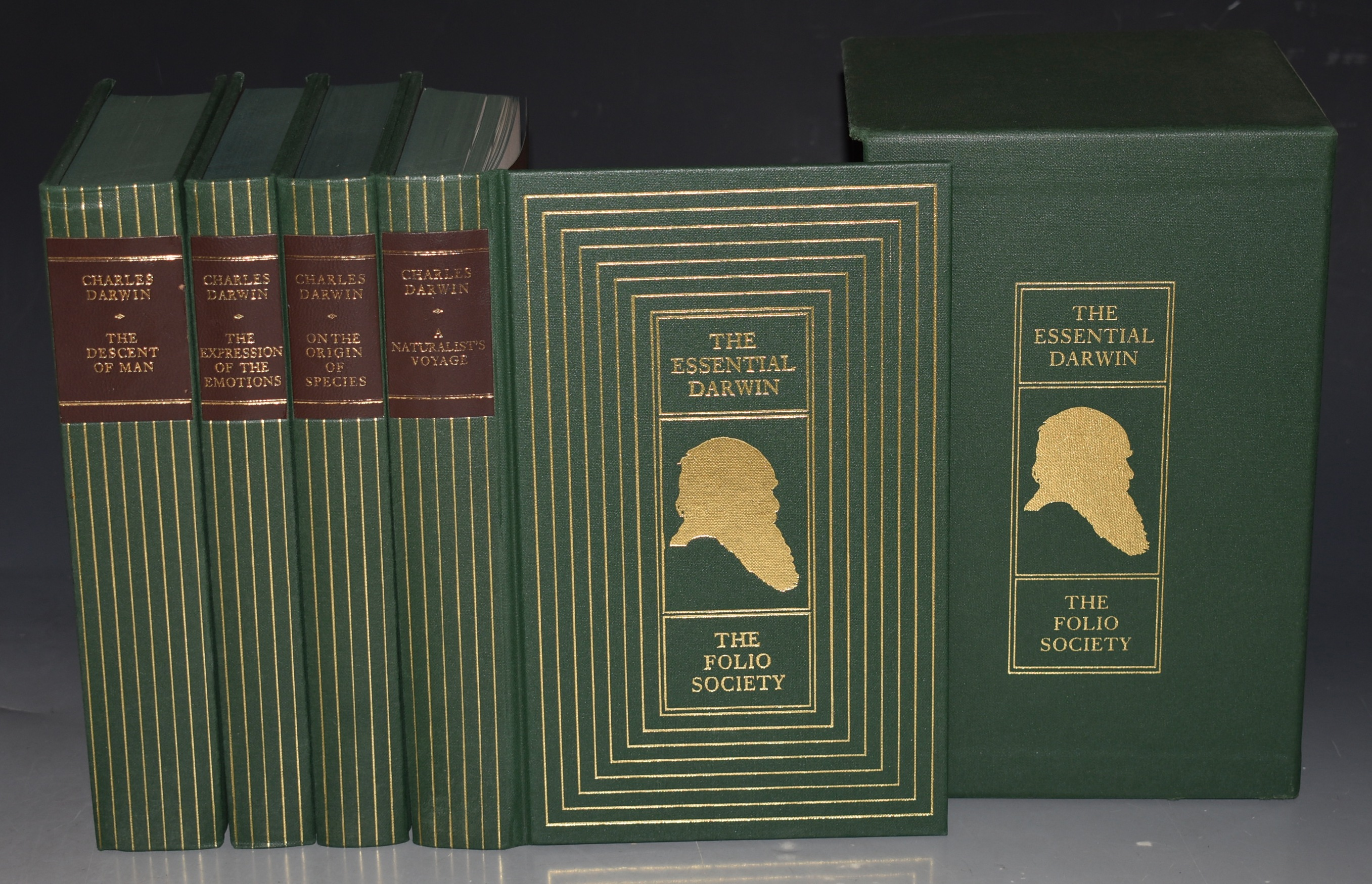 Image for The Essential Darwin. Slipcase containing On the Origin of Species, The Descent of Man, A Naturalist's Voyage, The Expression of the Emotions.