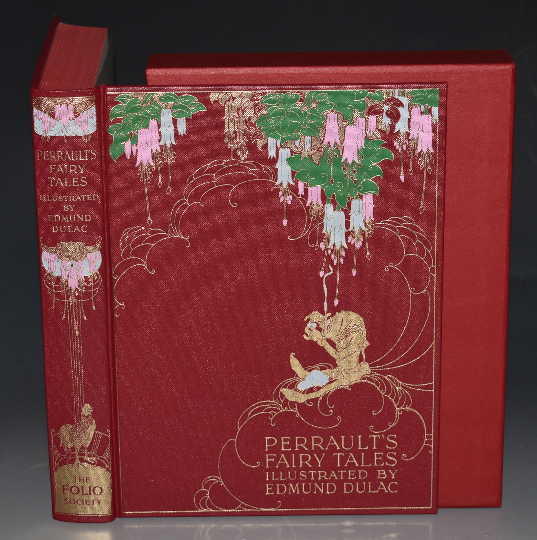 Image for The Fairy Tales of Charles Perrault Illustrated by Edmund Dulac. With slipcase.