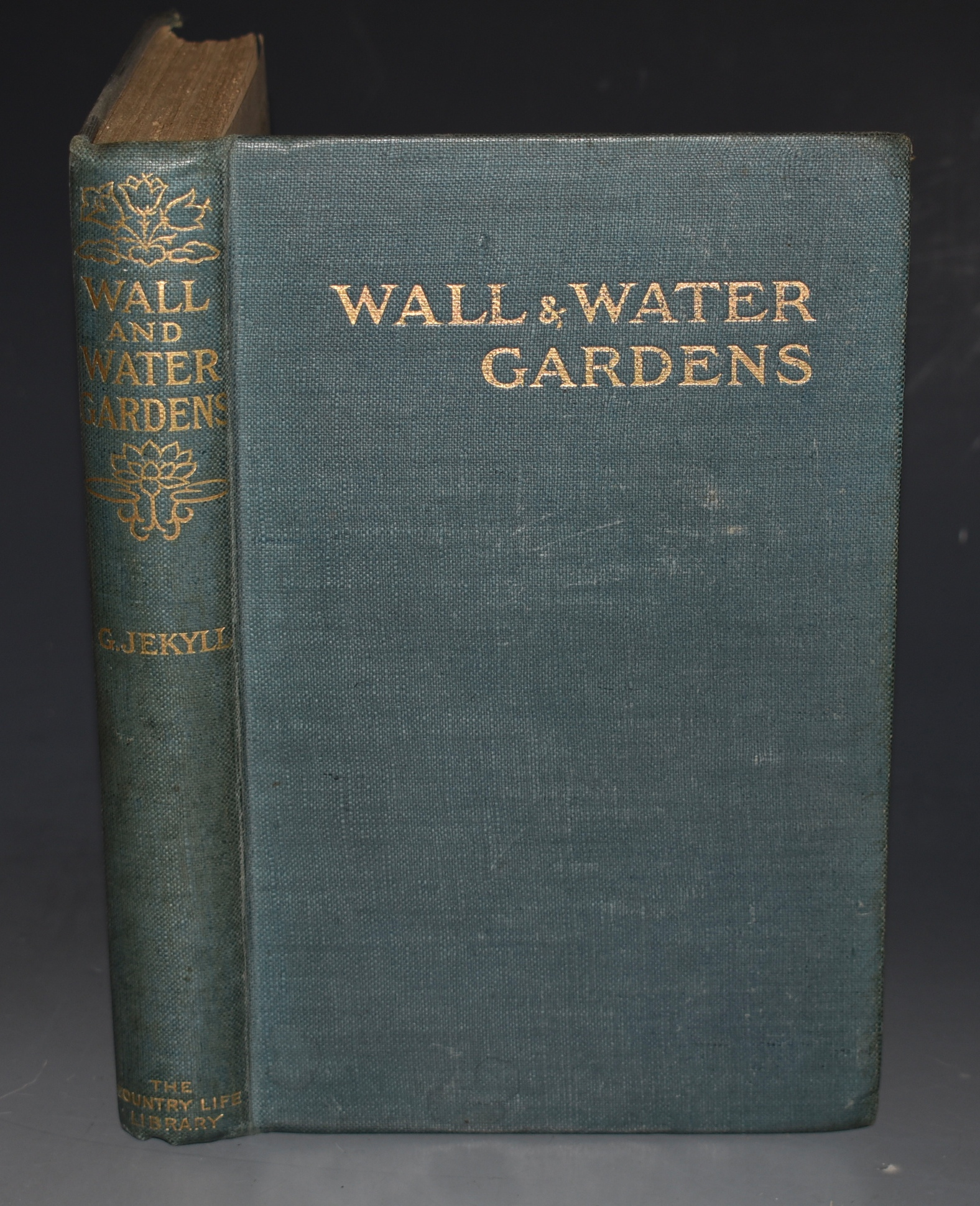 "Image for Wall & Water Gardens. The ""Country Life"" Library"