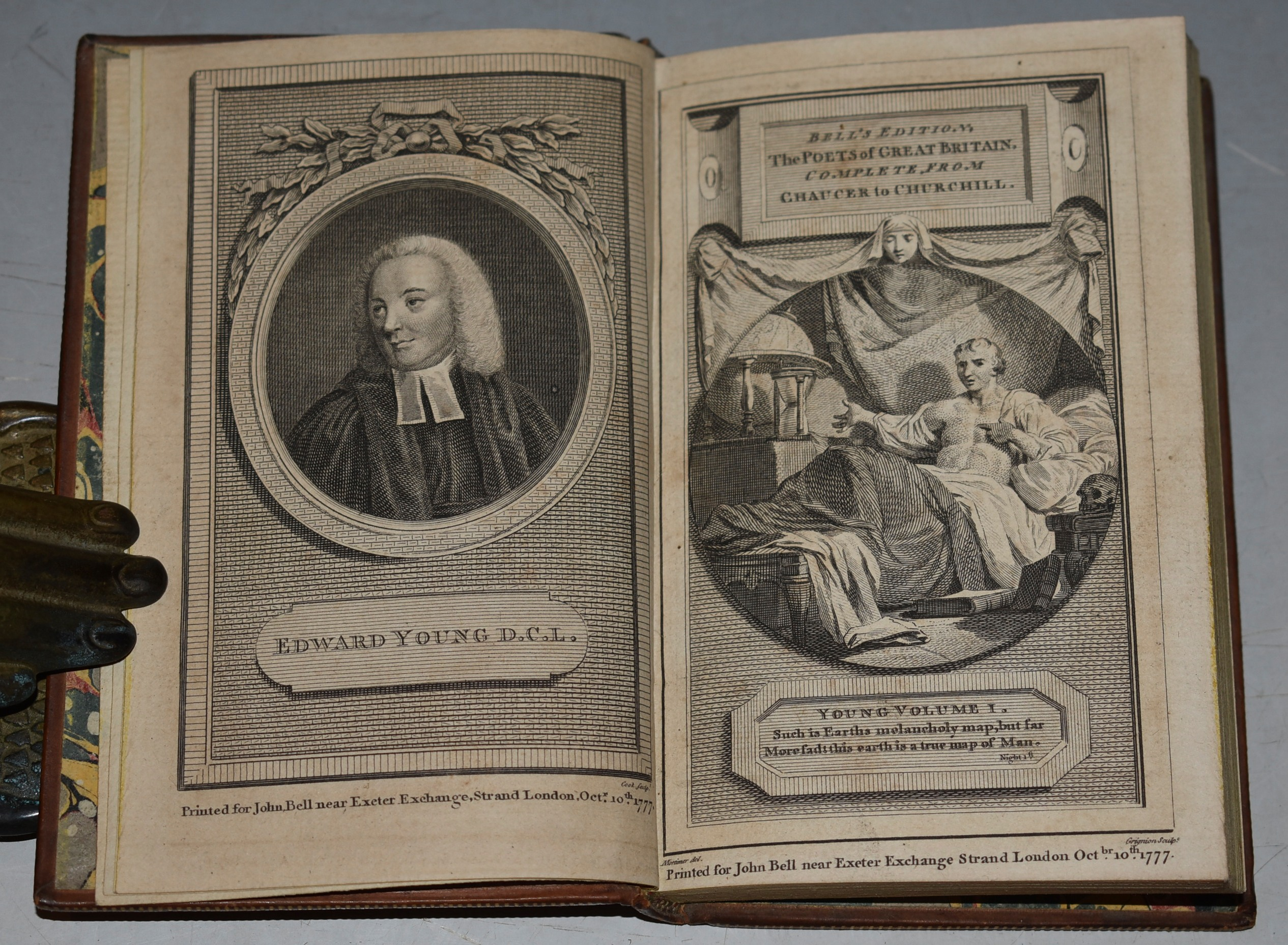 Image for The Poetical Works of The Reverend Edward Young. In Four Volumes. With Life of the Author.