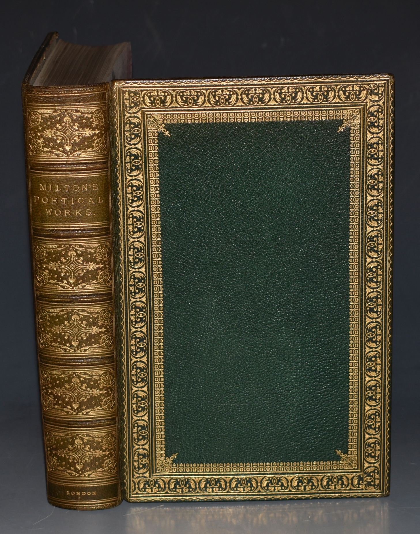 Image for The Poetical Works of John Milton Printed from the Original Editions with a Life of the Author by A. Chalmers.