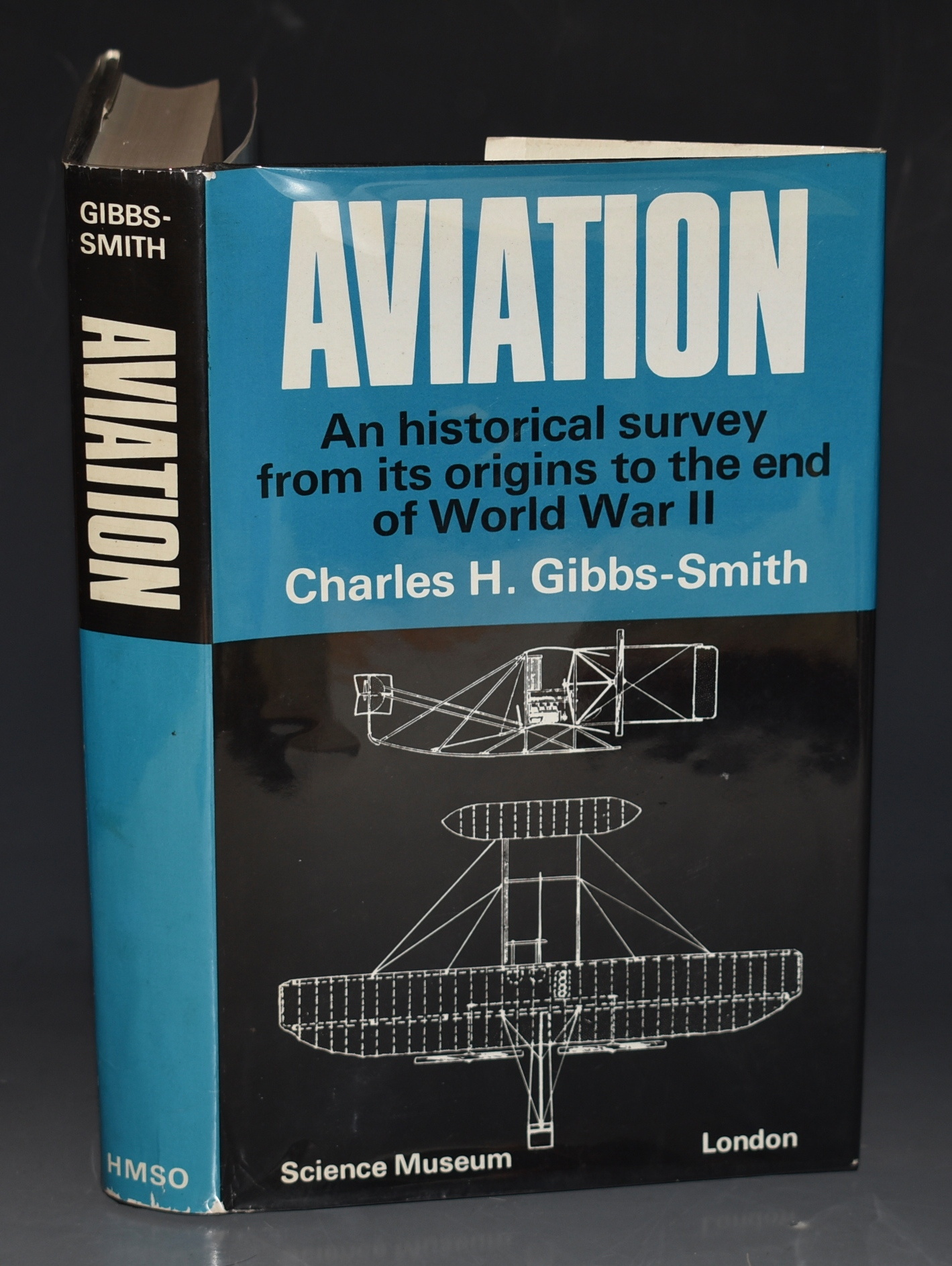 Image for Aviation An Historical Survey from its origins to the end of World War II. Science Museum. SIGNED.