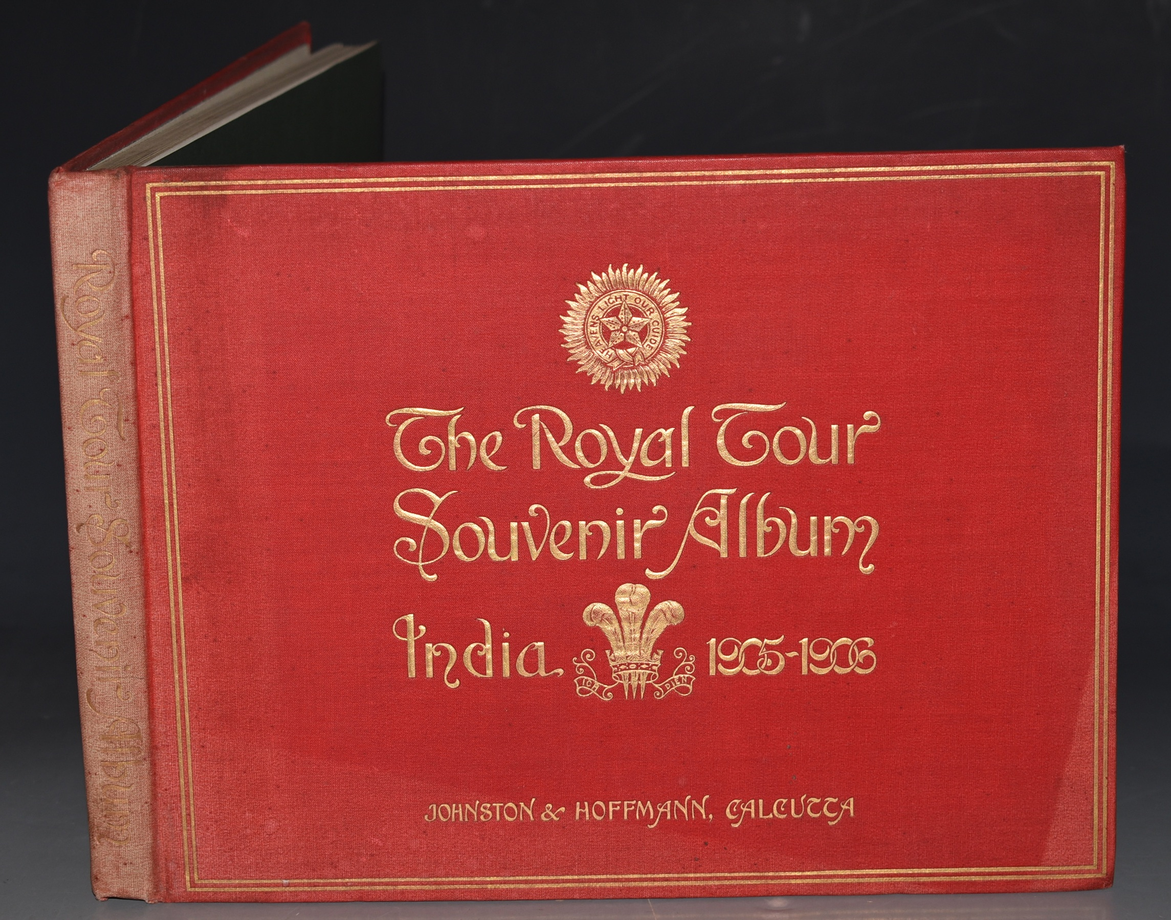 Image for Royal Tour Souvenir Album. India, 1905 - 1906. Containing a complete pictorial record of all the principle events in the Indian Tour of their Royal Highnesses the Prince and Princess of Wales.