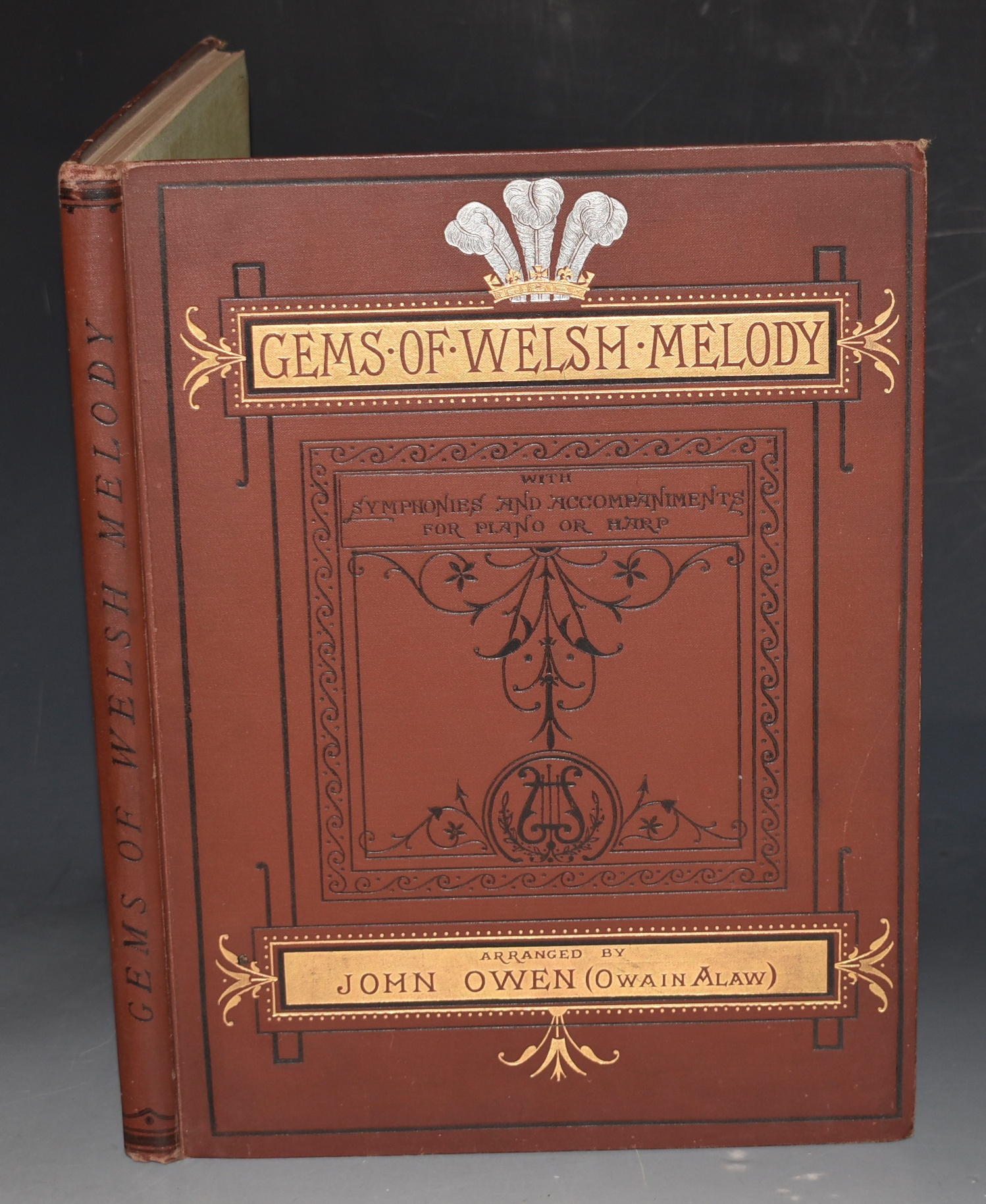 Image for Gems of Welsh Melody. A Selection of Popular Welsh Songs, with English and Welsh Words; Specimens of Pennillion Singing, after the Manner of North Wales, and Welsh National Airs, Ancient and Modern. With symphonics and accompaniments for Piano of Harp.