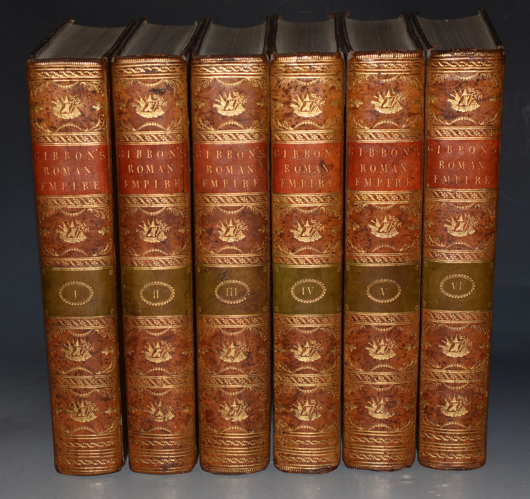 Image for The History of the Decline and Fall of the Roman Empire. In Six Volumes.