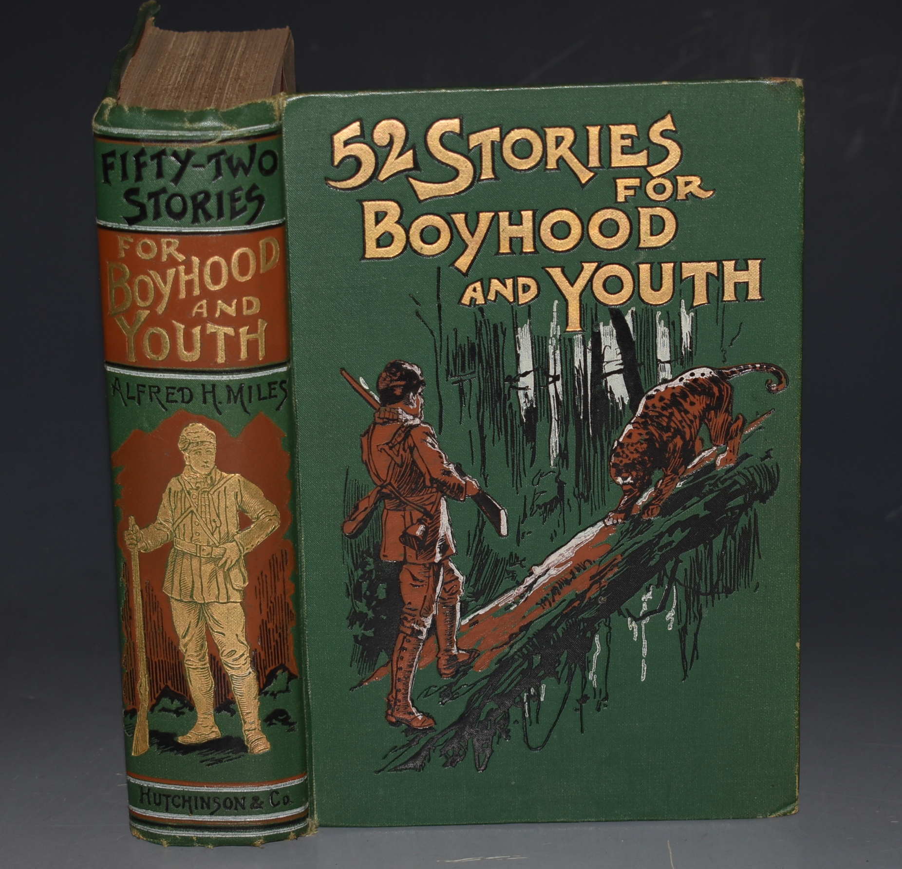 "Image for Henty: ""Hunted by an Elephant"" IN: 52 Fifty-Two Stories for Boyhood and Youth."