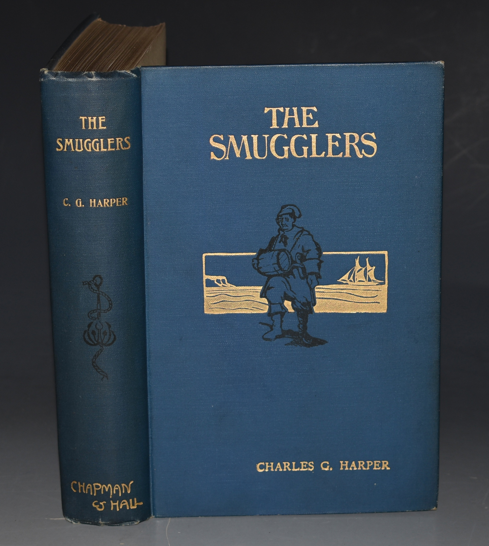 Image for The Smugglers, Picturesque Chapters in the Story of an Ancient Craft. Illustrated by Paul Hardy, by the author and from old prints and photographs.