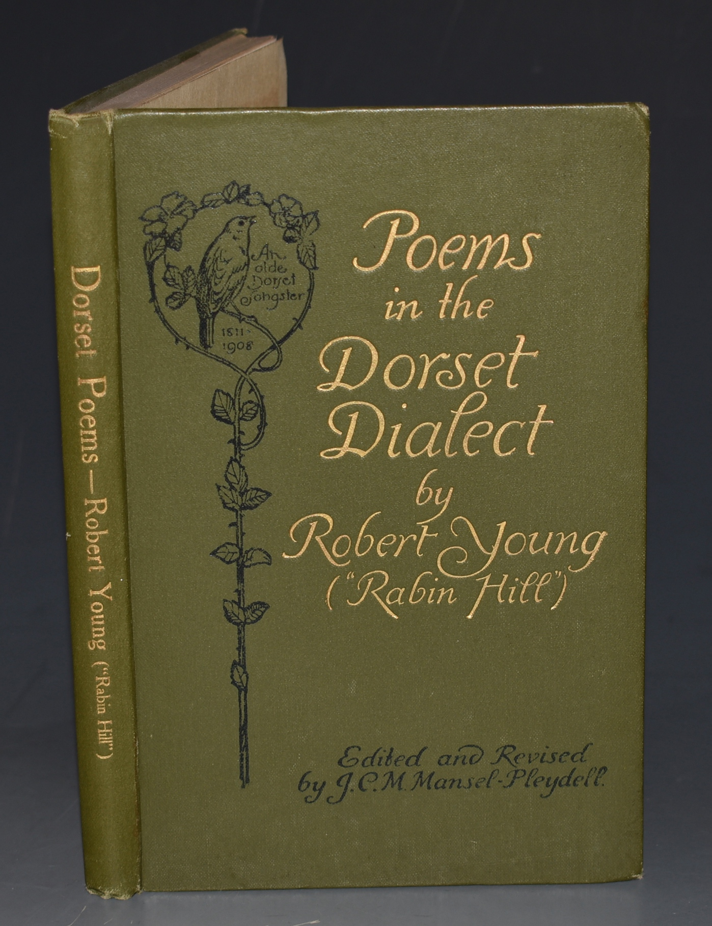 "Image for Poems in the Dorset Dialect. of Sturminster Newton, Dorset. ""An Olde Dorset Songster"" 1811-1908. Ed. by Rev. J.C. MANSEL-PLEYDELL."