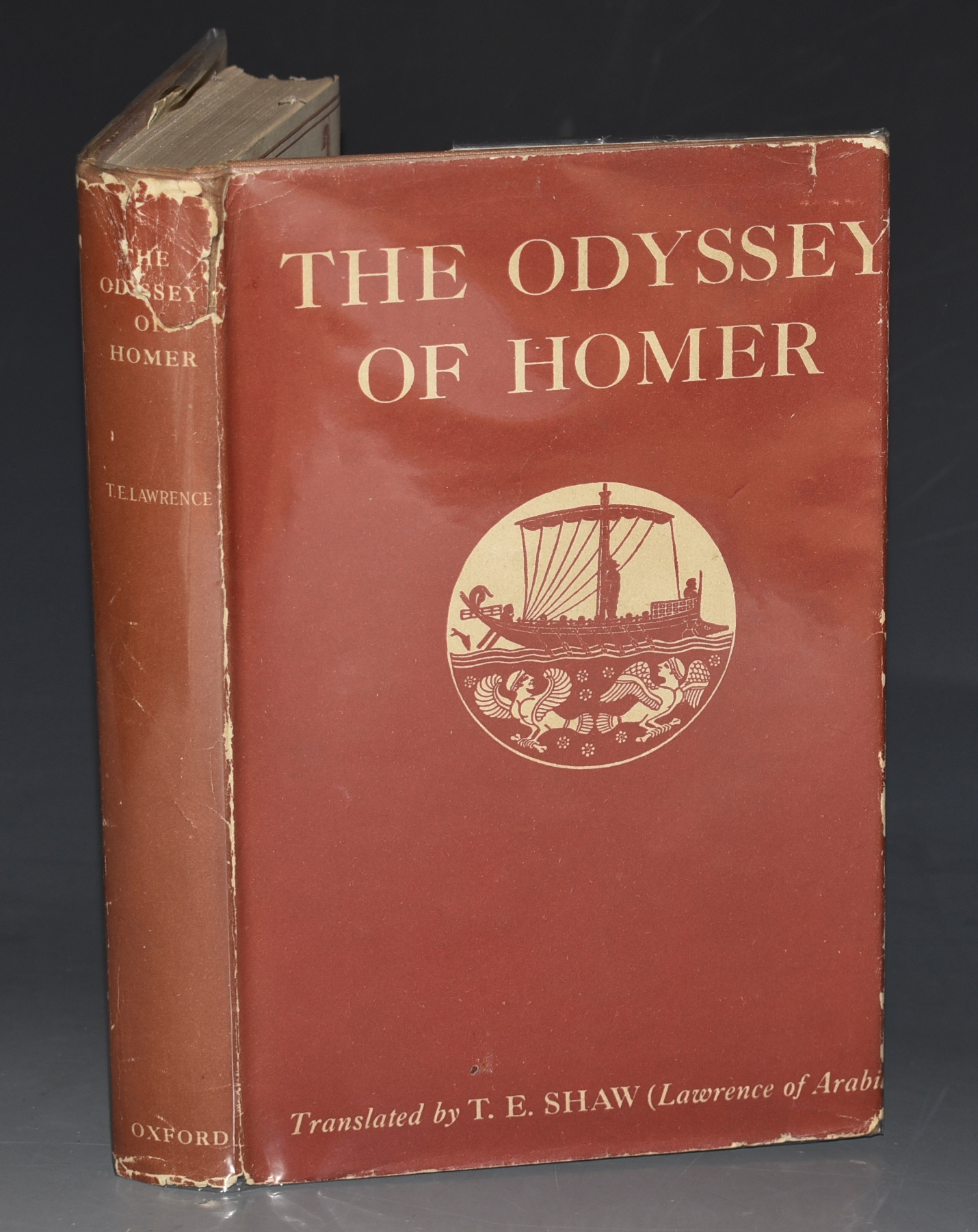 Image for The Odyssey of Homer. Newly Translated into English Prose by T. E. Shaw (Lawrence of Arabia.)