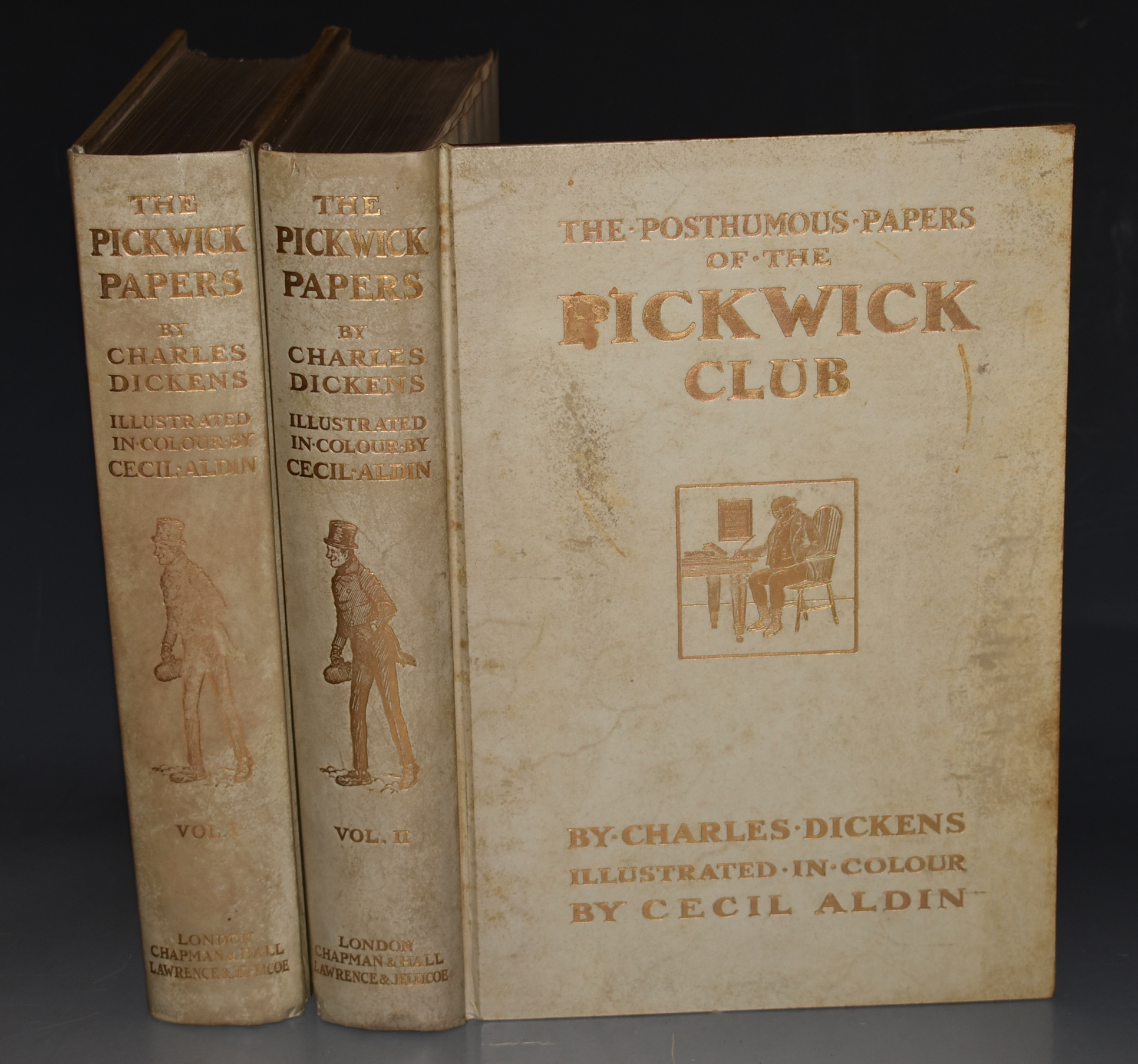 Image for The Posthumous Papers of the Pickwick Club. Illustrated by Cecil Aldin. In Two Volumes. SIGNED LIMITED EDITION.