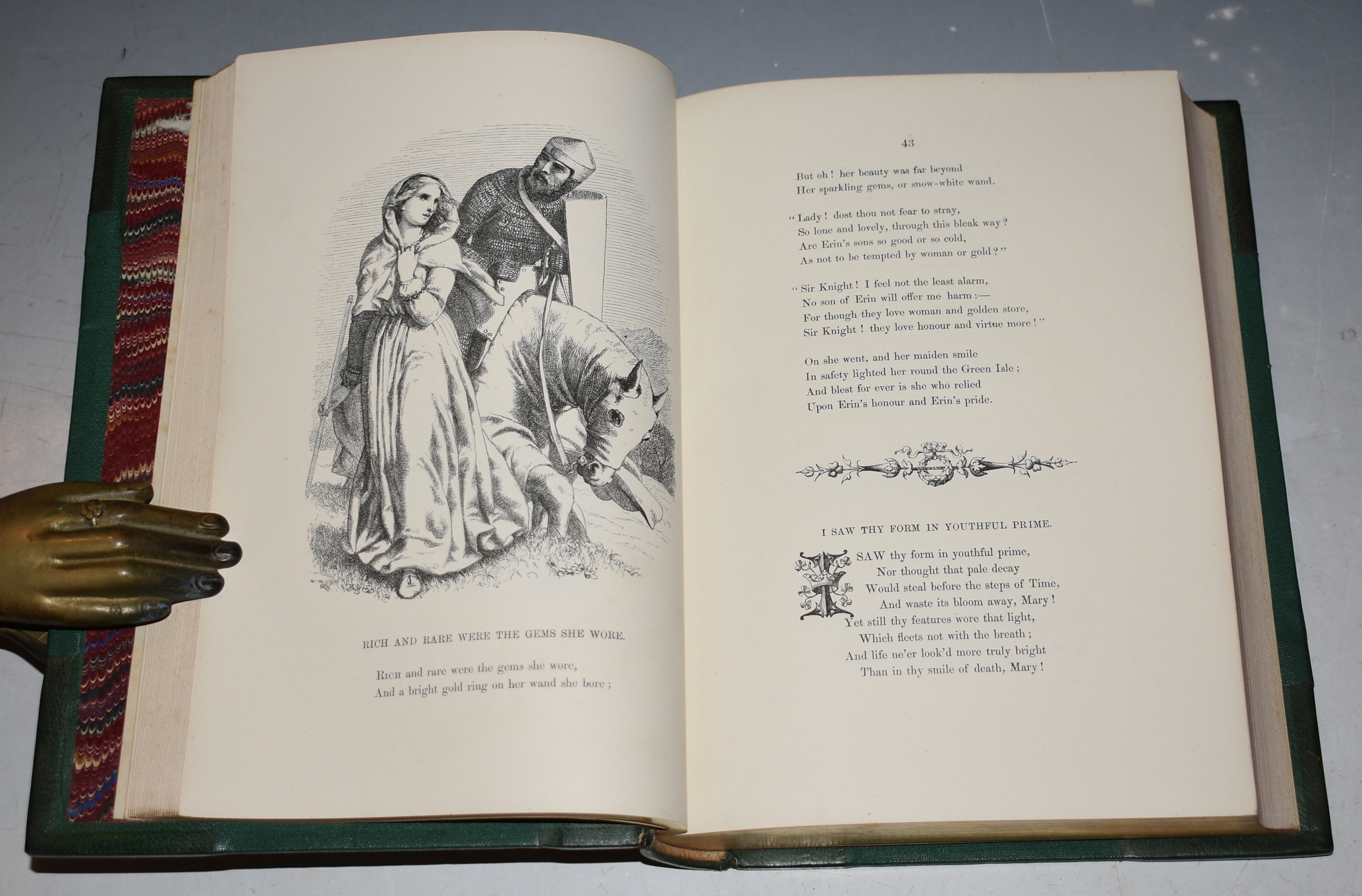 Image for Poetry and Pictures from Thomas Moore. With Illustrations on Wood.