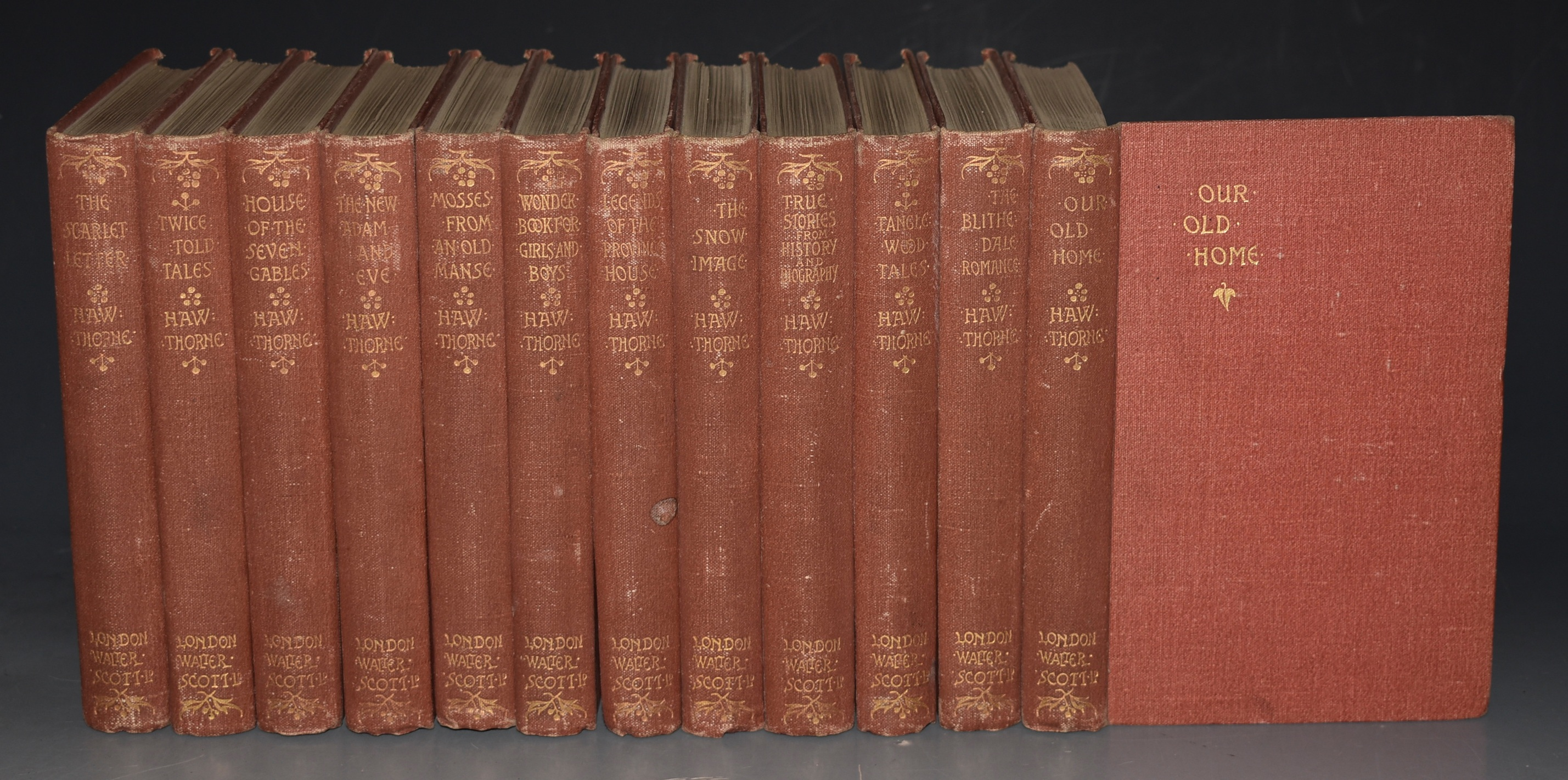 Image for The Works of Nathaniel Hawthorne Complete in Twelve Volumes.