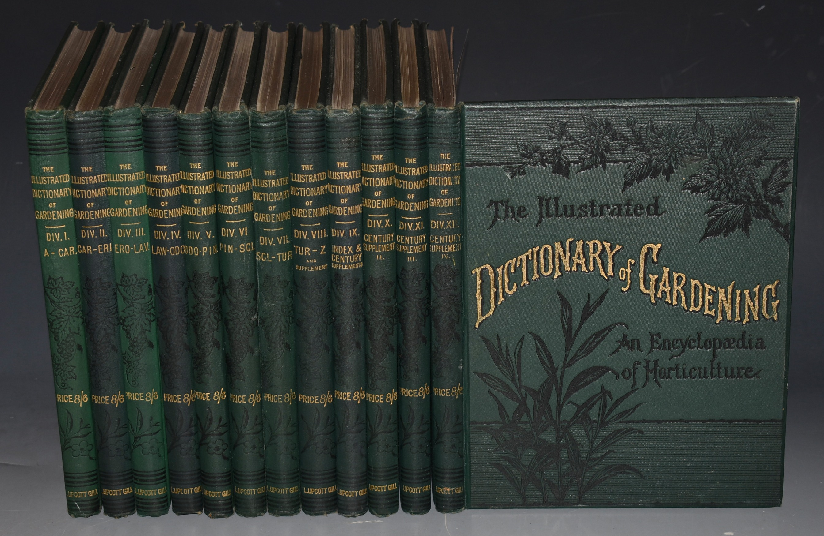 Image for The Illustrated Dictionary of Gardening. A Practical and Scientific Encyclopaedia of Horticulture for Gardeners and Botanists. In Twelve Volumes.