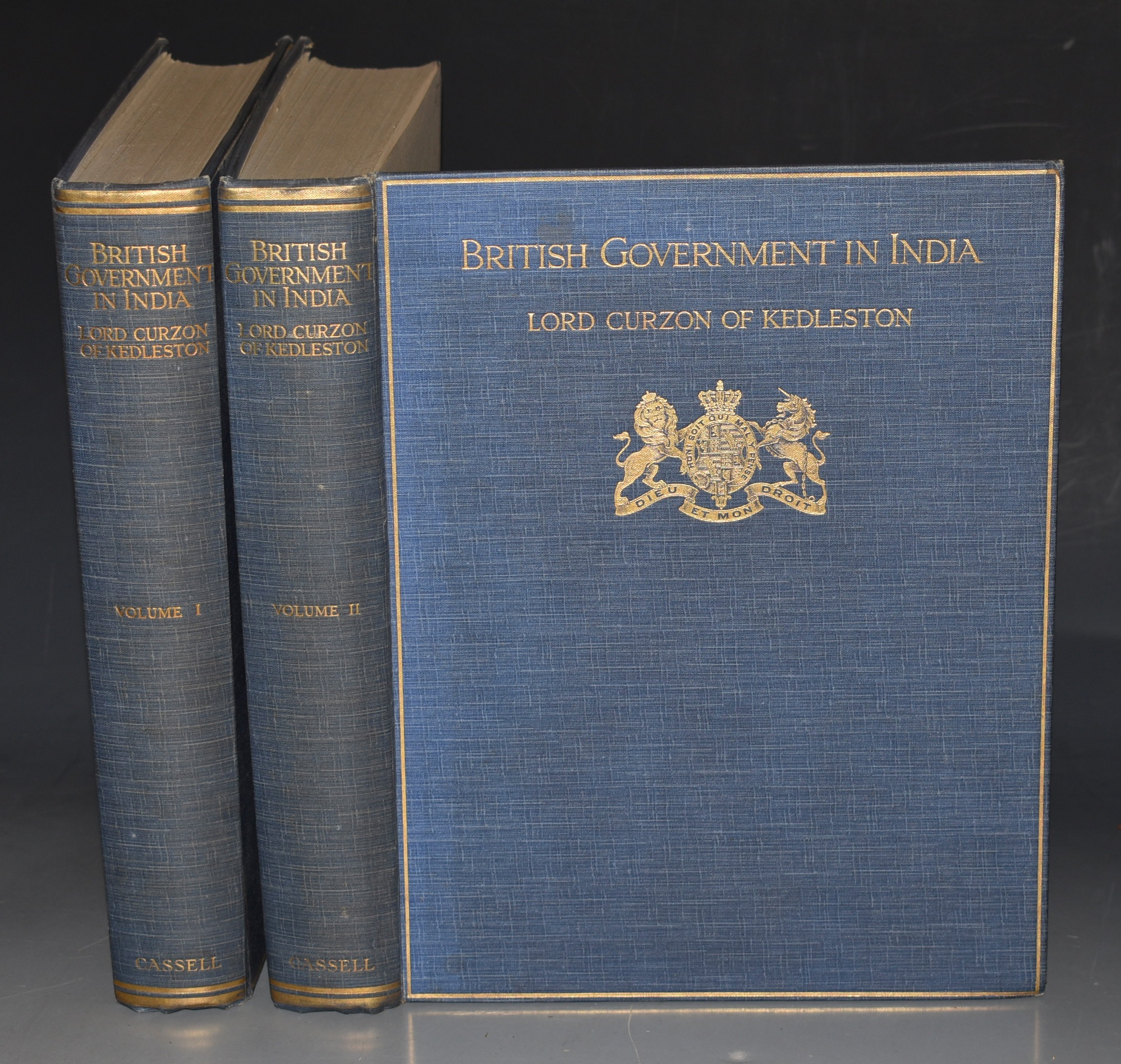Image for British Government In India. The Story of the Viceroys and Government House. In Two Volumes.