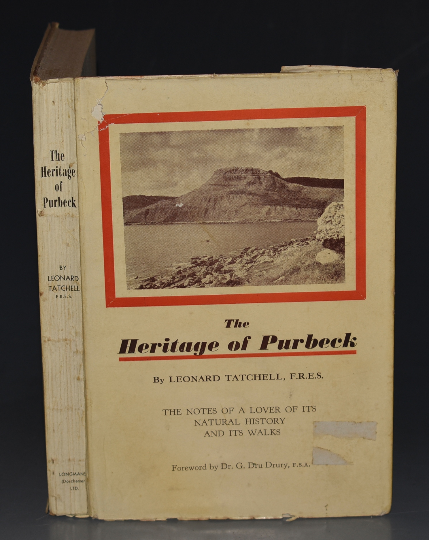 Image for The Heritage of Purbeck. The Notes of a Lover of its Natural History and its Walks.