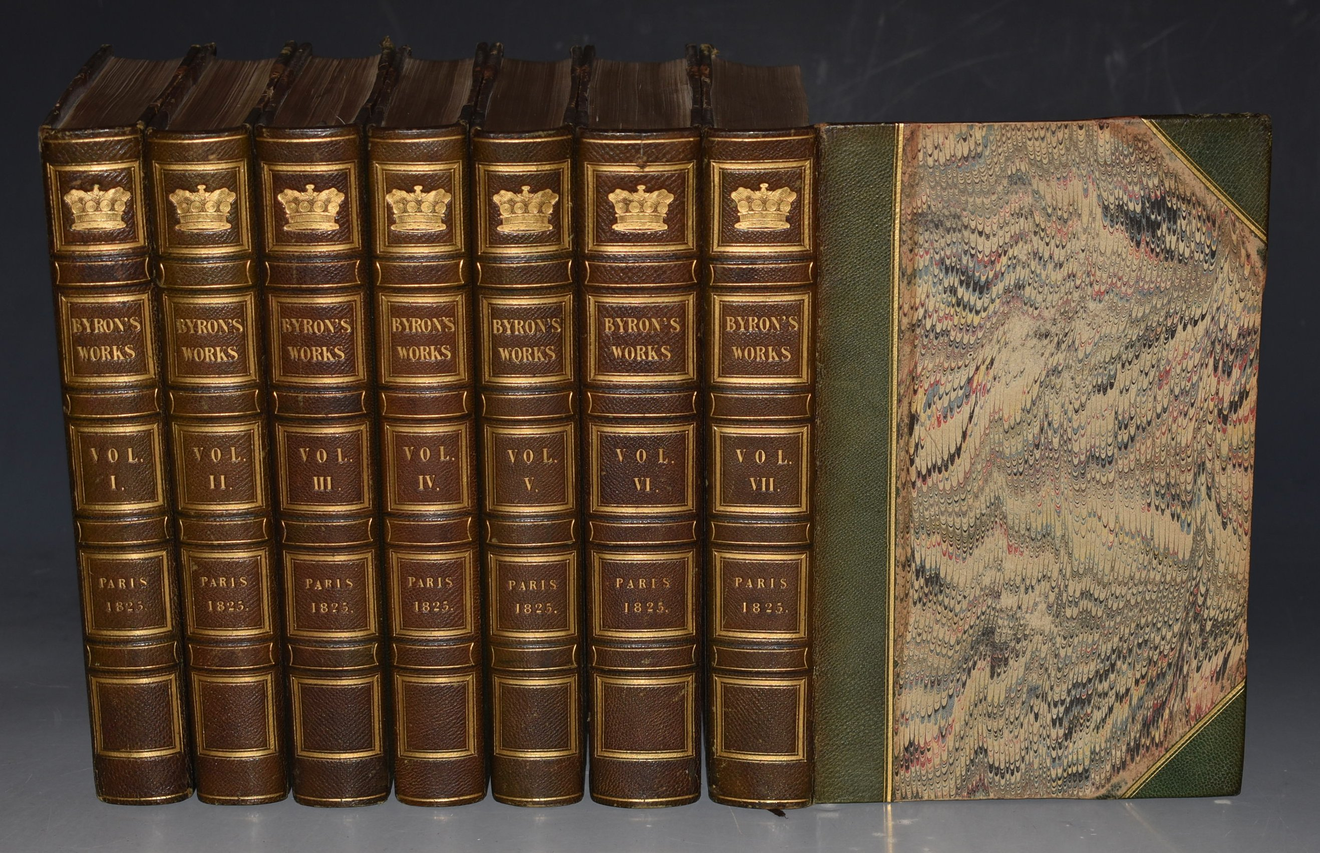 Image for The Complete Works of Lord Byron. With a Biographical and Critical Notice by J. W. Lake Esq. In Seven Volumes.