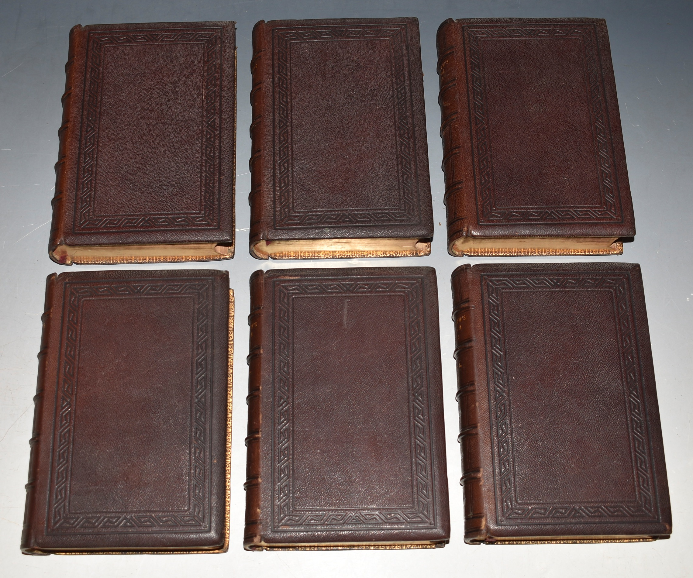 Image for The Poetical AND Prose Works of Henry Wadsworth Longfellow. Poetical Works in Four Volumes. Prose Works in Two Volumes. Set of Six Volumes Total.