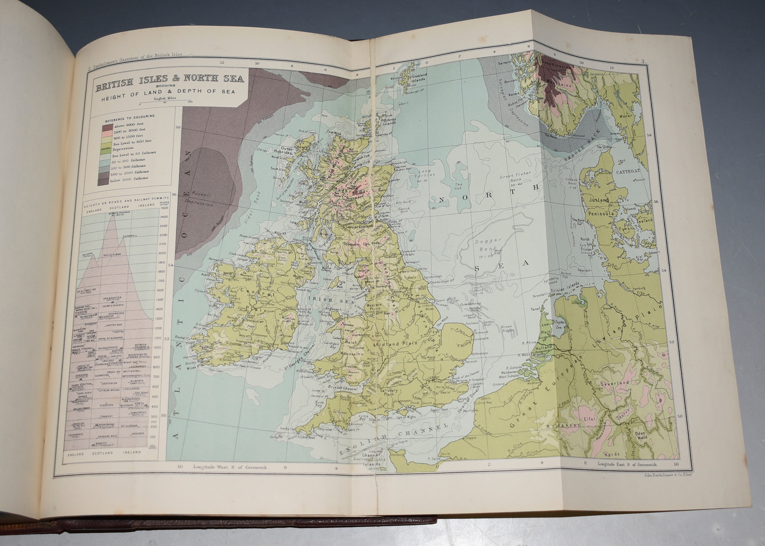 Image for The Survey Gazetteer of the British Isles, Topographical, Statistical and Commercial. Compiled from the 1901 Census and the Latest Official Returns. With Appendices and Special Maps.