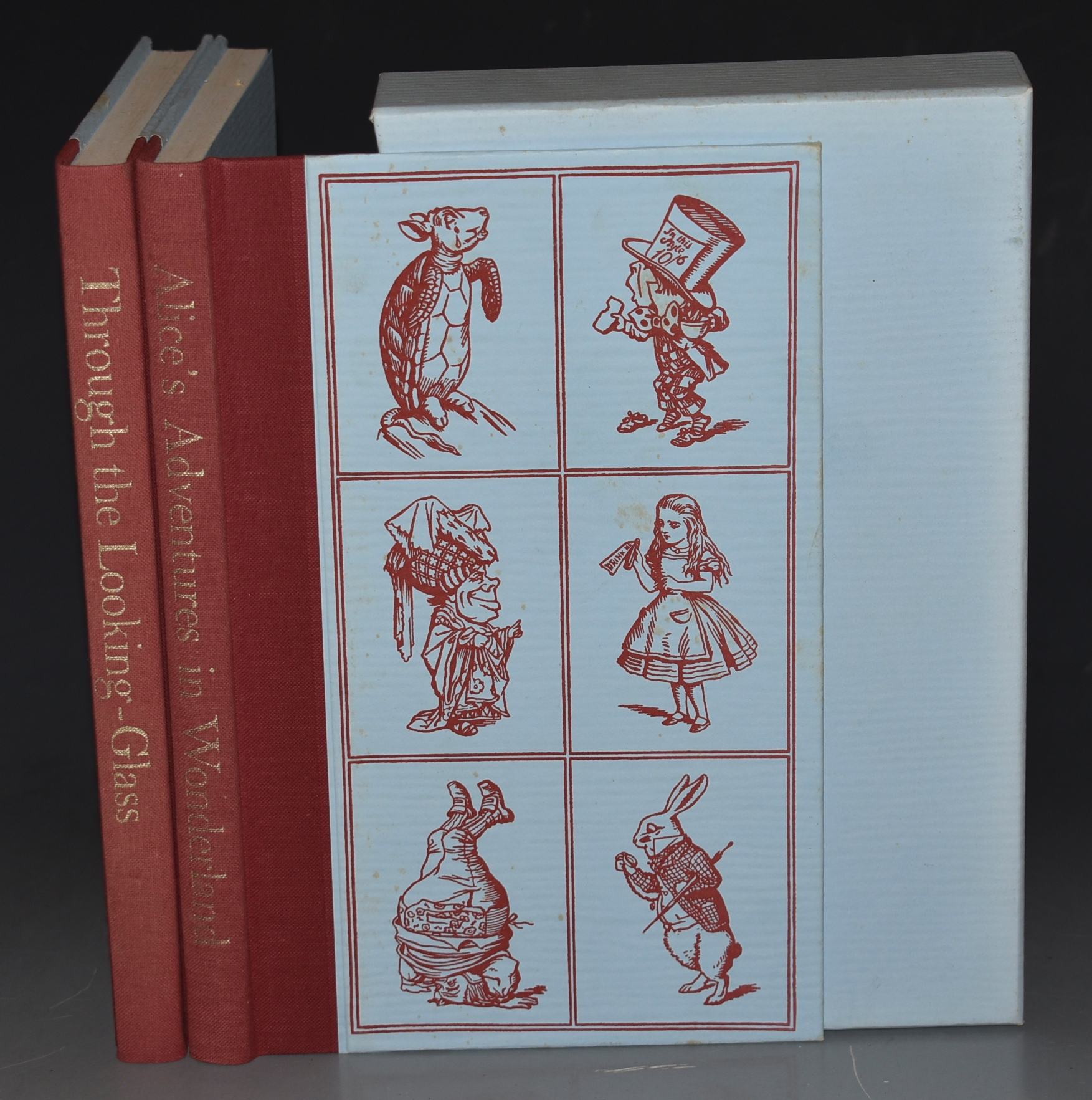 Image for Alice's Adventures in Wonderland. And : Through the Looking-Glass. Two Volumes in Slipcase.