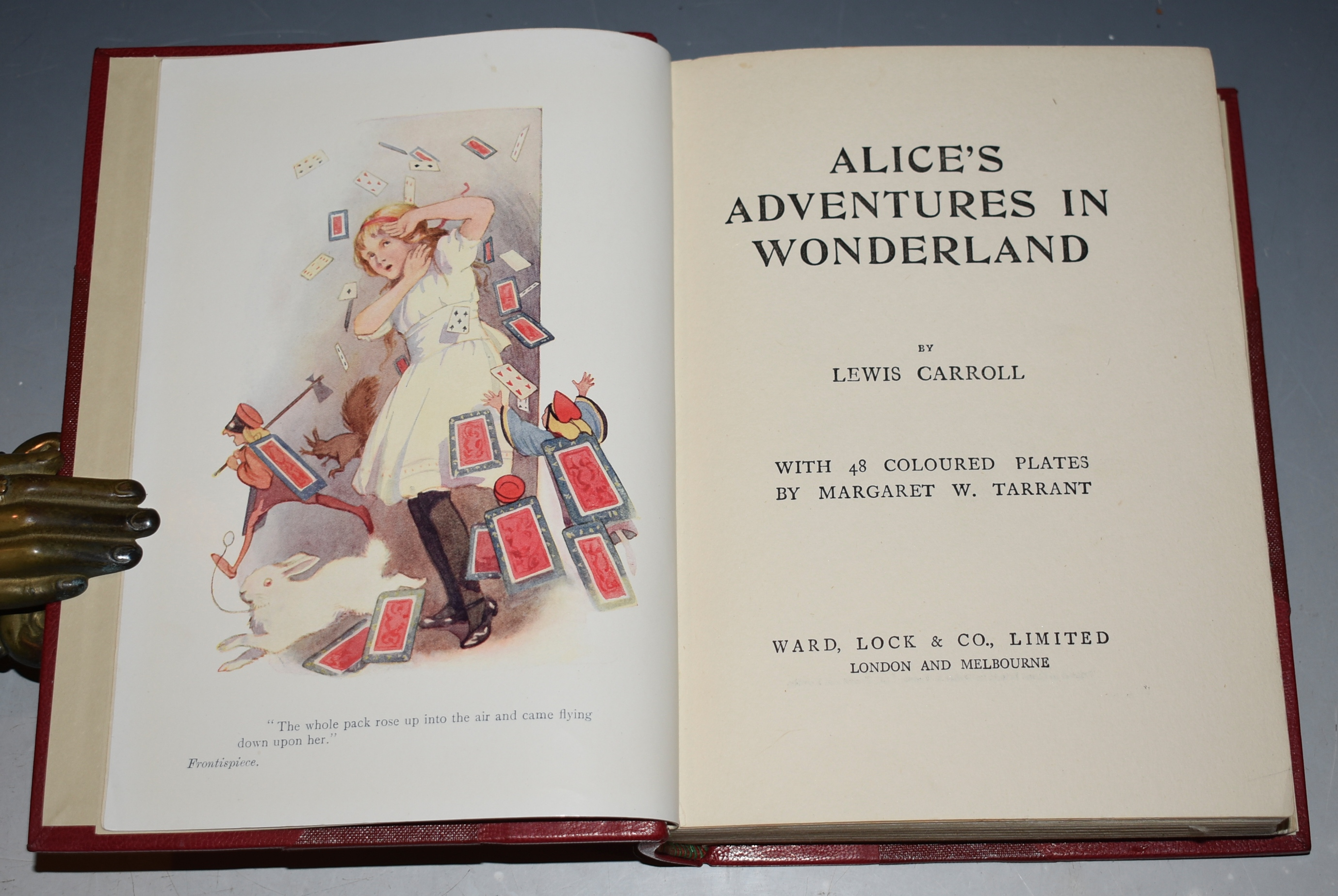 Image for Alice's Adventures in Wonderland. With 48 coloured plates by Margaret W. Tarrant.