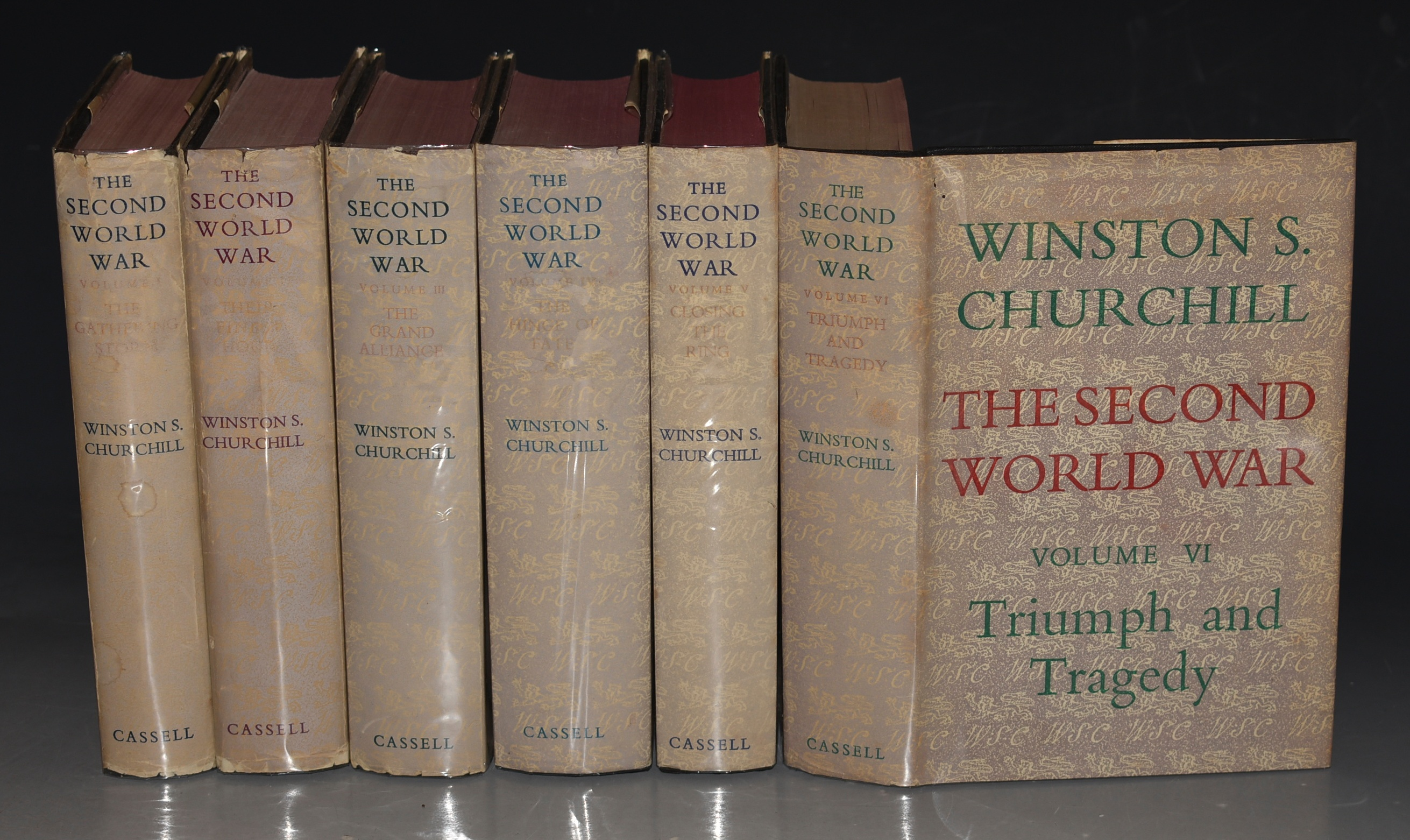 Image for The Second World War. Complete in Six Volumes. The Gathering Storm, Their Finest Hour, The Grand Alliance, The Hinge of Fate, Closing The Ring, Triumph and Tragedy.