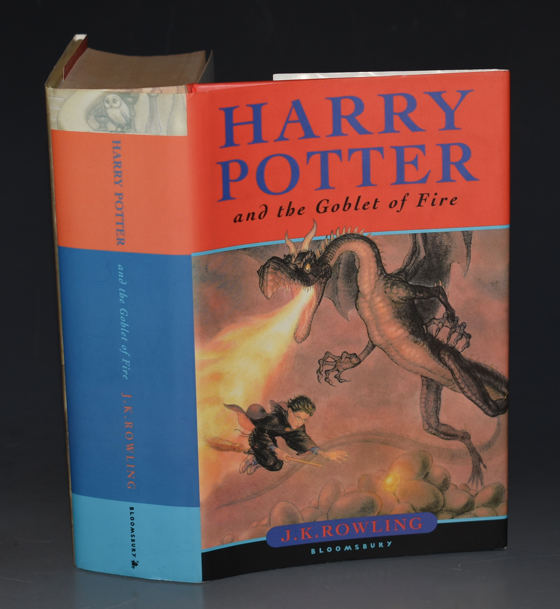 Image for Harry Potter and the Goblet of Fire SIGNED FIRST EDITION