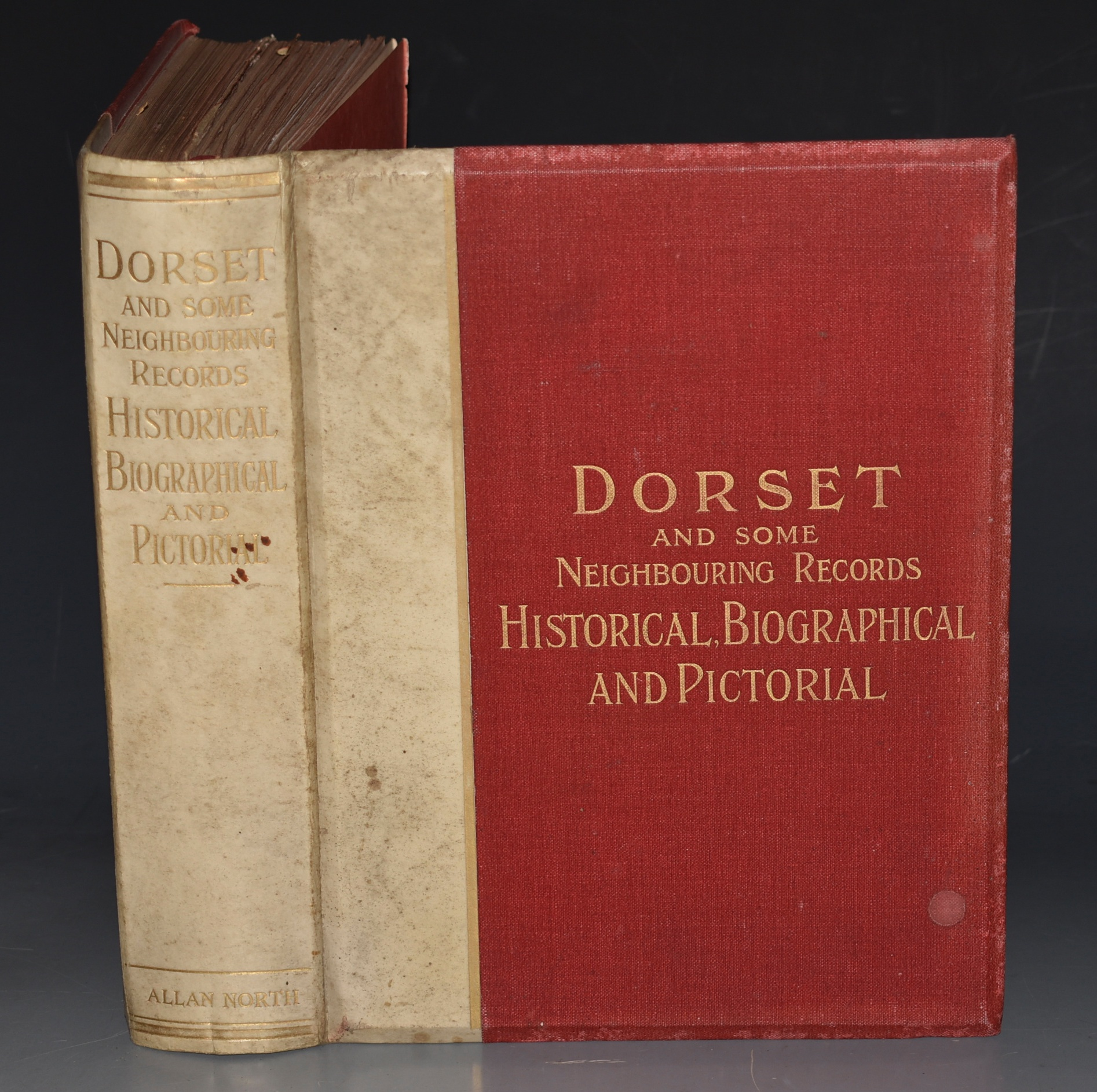 "Image for Dorset and some Neighbouring Records: Historical, Biographical, and Pictorial. ""The Wessex Series"". WITH Authors compliments"