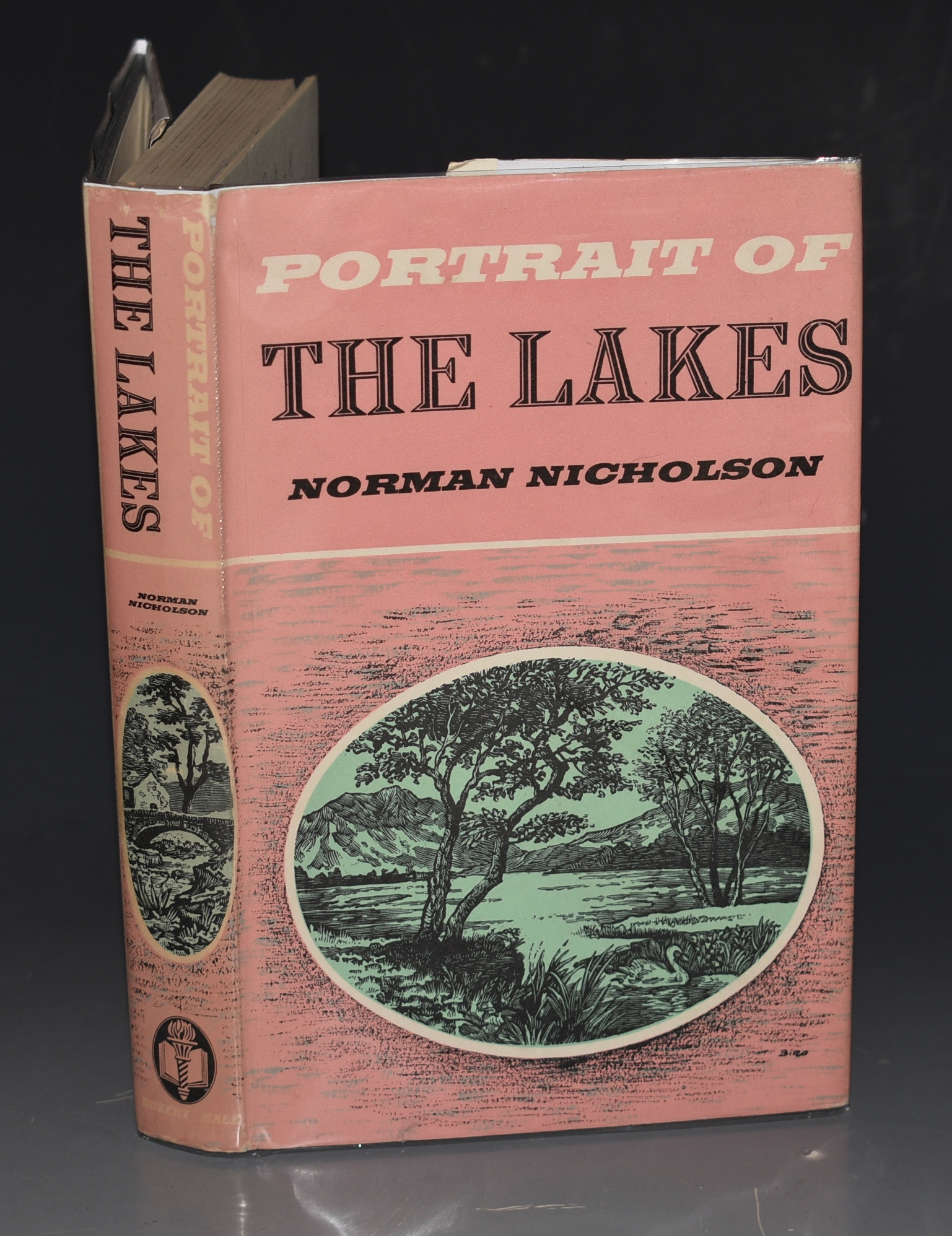 Image for Portrait of The Lakes. Illustrated and with a map.