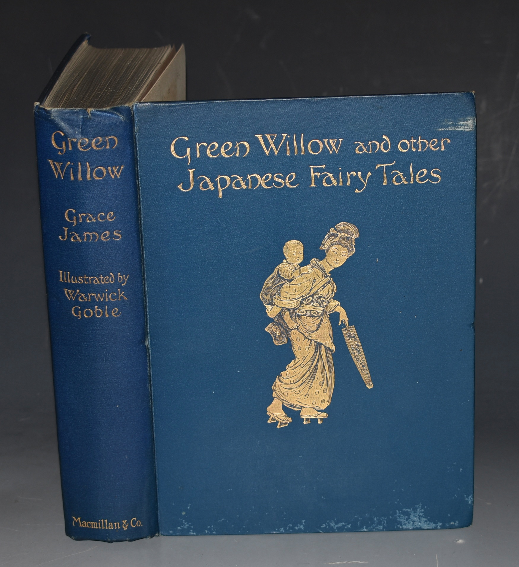 Image for Green Willow and Other Japanese Fairy Tales.