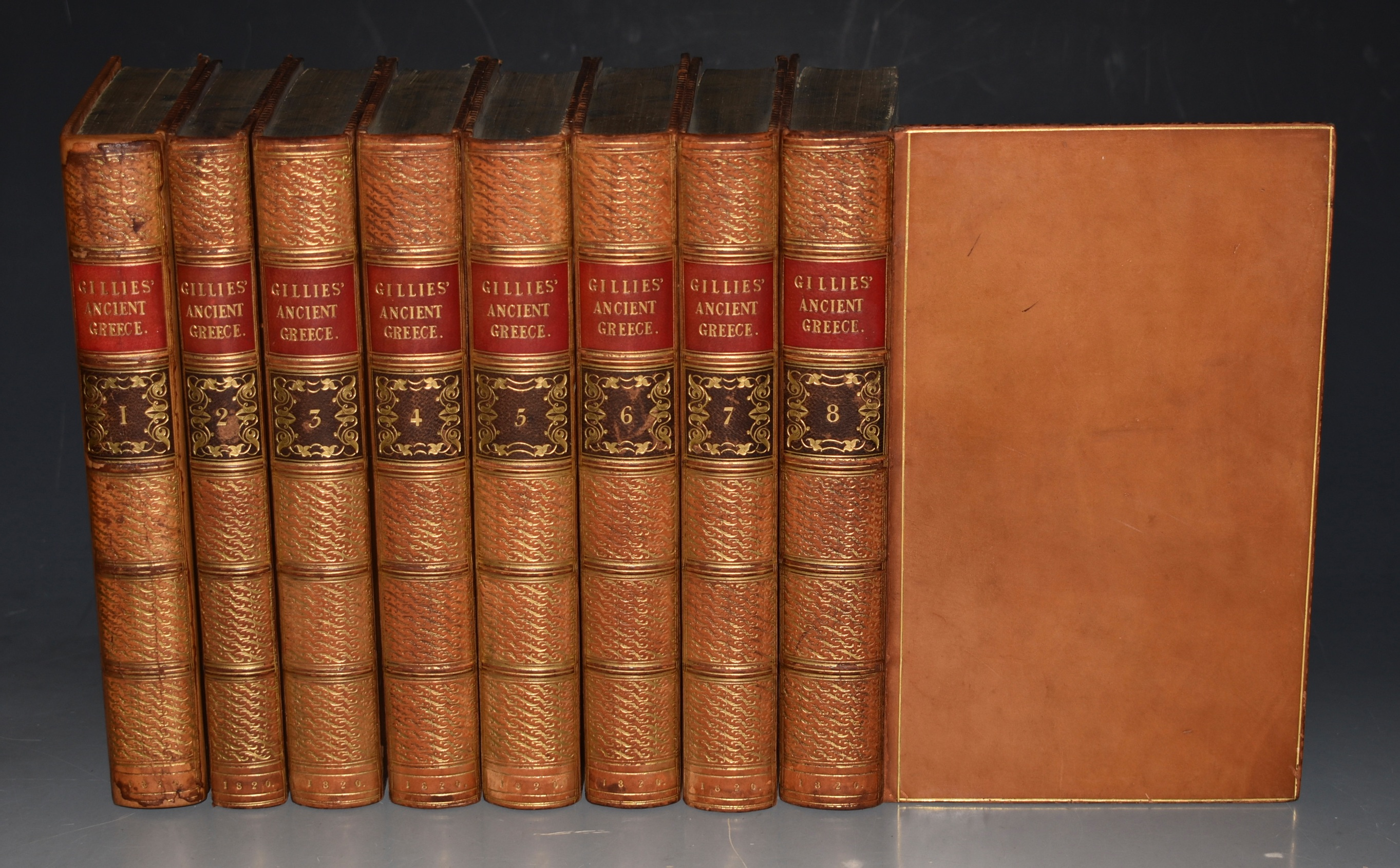 Image for The History of Ancient Greece, Its Colonies, and Conquests; Including the History of Literature, Philosophy, and the Fine Arts. Parts FIRST and SECOND. Complete in Eight Volumes. (Each part in Four Volumes respectively.)