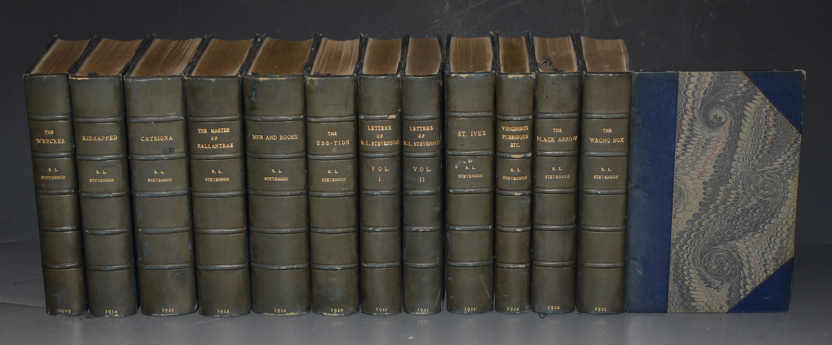 Image for The Works of Robert Louis Stevenson. In 12 Volumes.