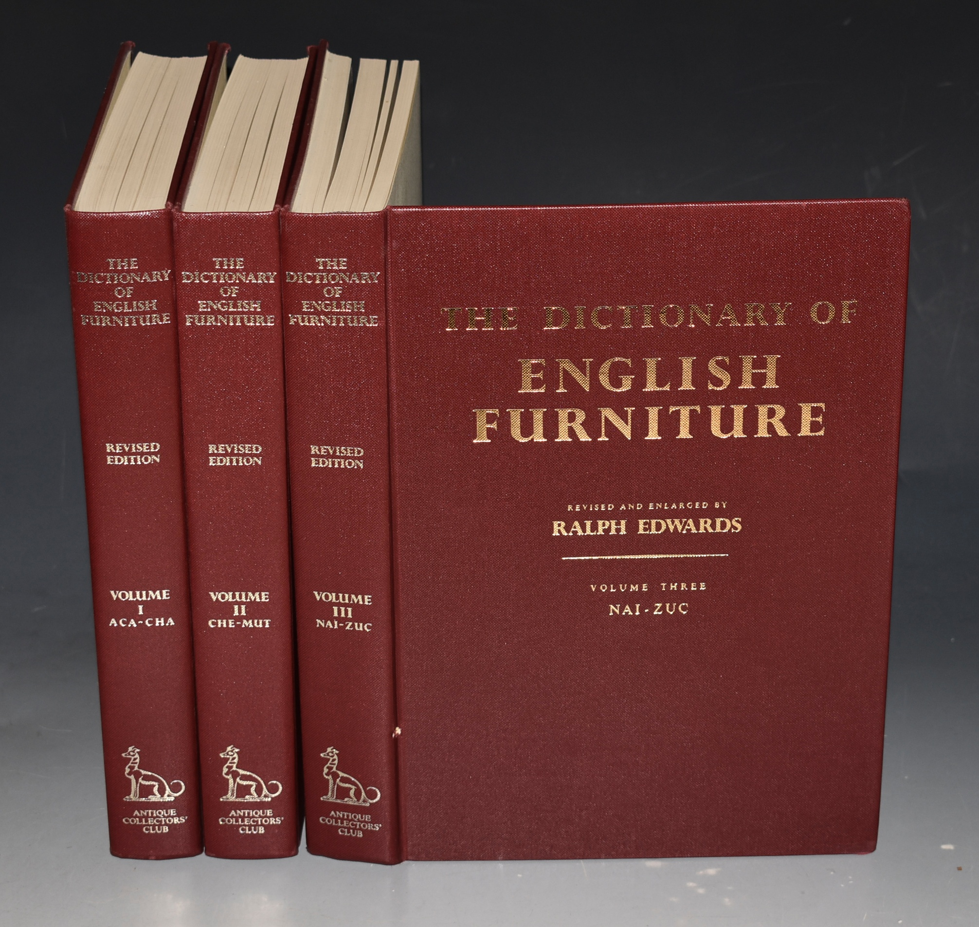 Image for A Dictionary of English Furniture From the Middle Ages to the Late Georgian Period. In three volumes.