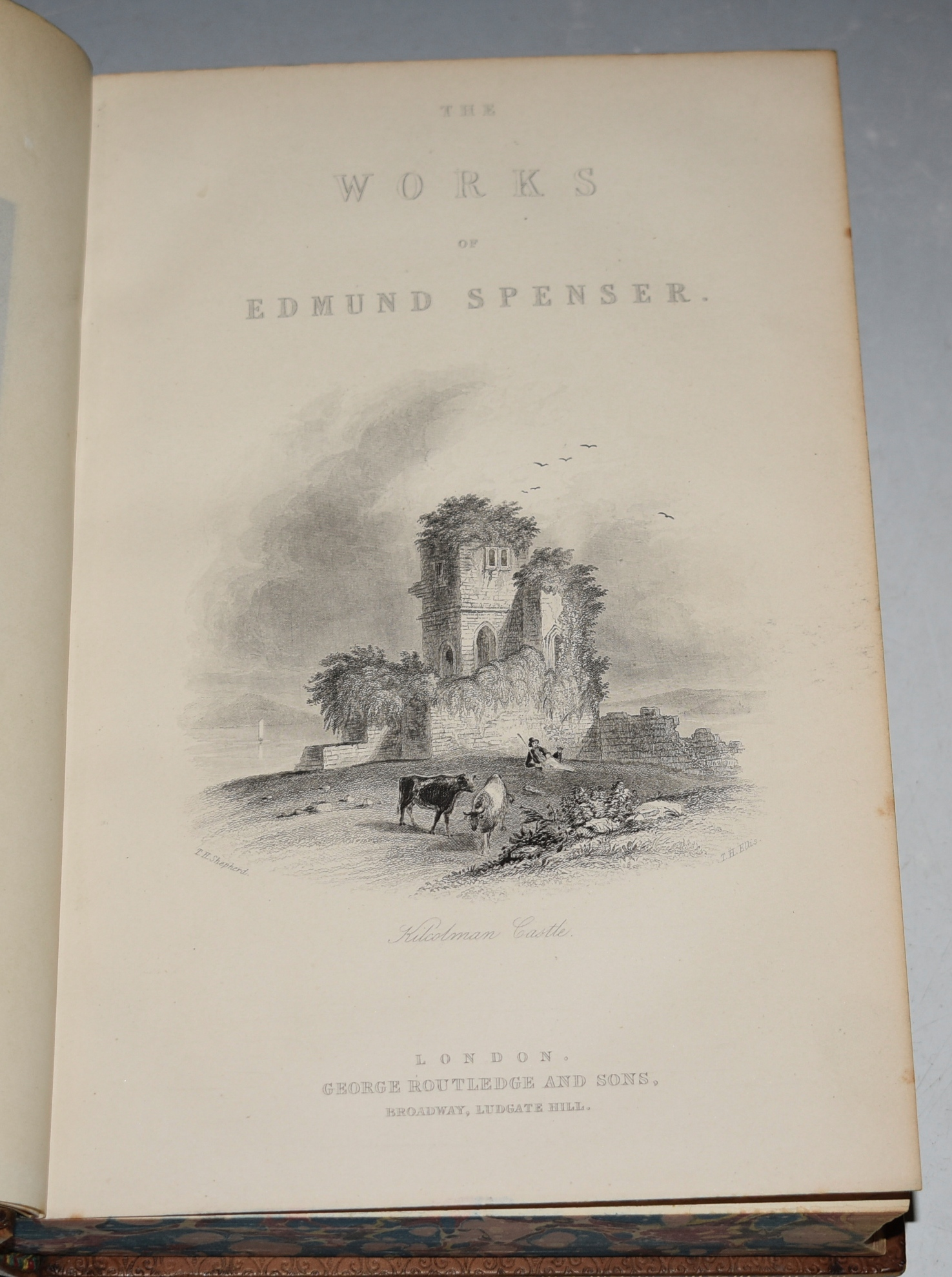 Image for The Works of Edmund Spenser, With A Selection of Notes From Various Commentators; And A Glossorial Index: to which is prefixed, some account of the life of Spenser, by the Rev. Henry John Todd.
